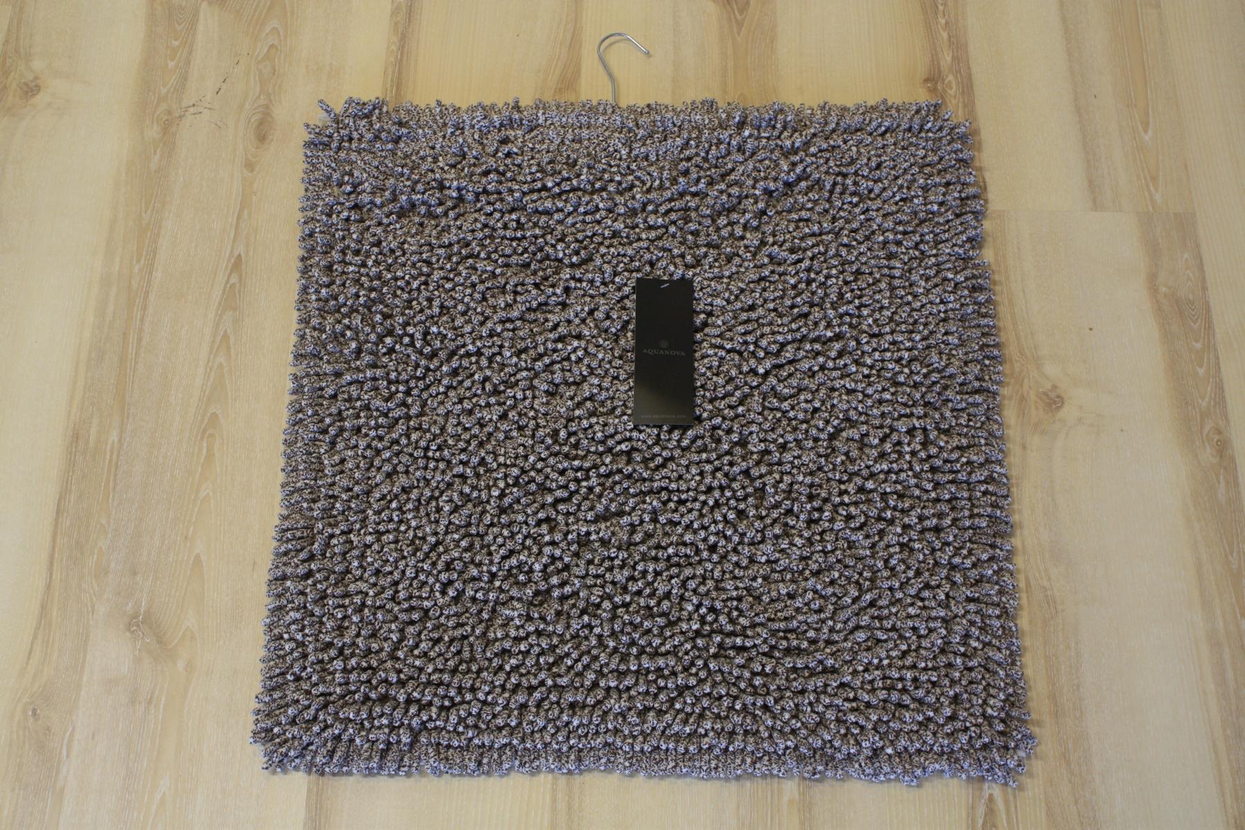 badteppich aquanova elvira 12 sand 60x60cm beige ebay. Black Bedroom Furniture Sets. Home Design Ideas