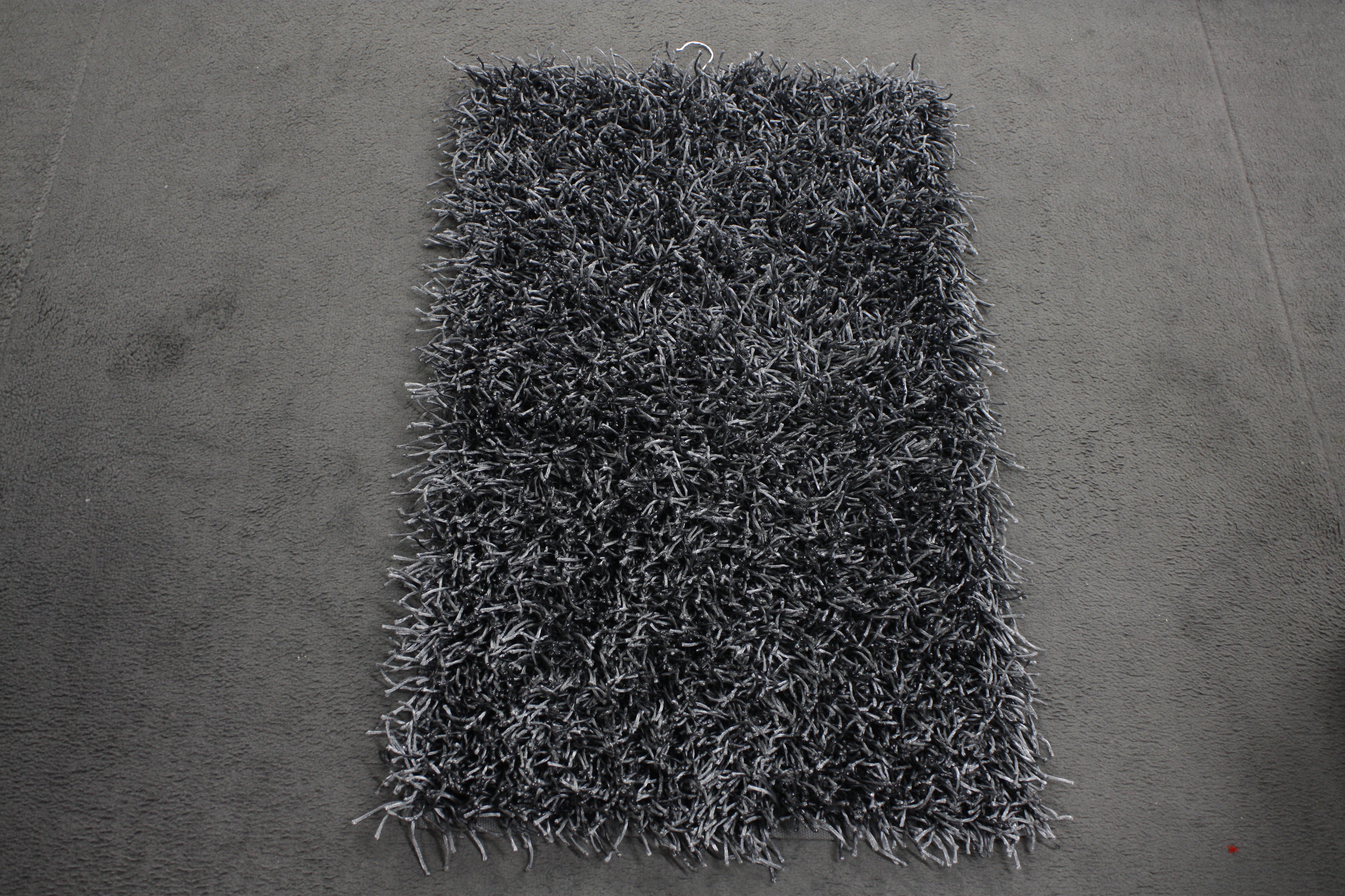 Tapeten Von Decken L?sen : Badteppich Aquanova Kemen 98 Dark Grey 60x100cm Langflor eBay