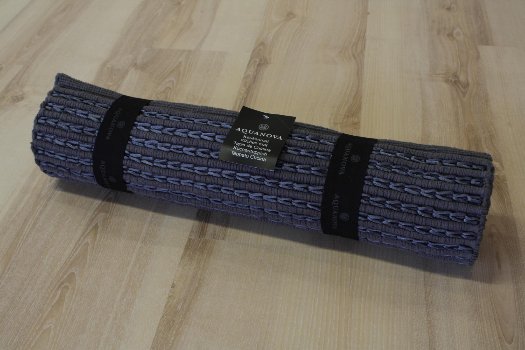 küchenteppich küchenläufer aquanova victor 98 dark grey 55x150cm ... - Küche Teppich