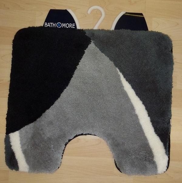 Bathroom rug Bath mat Bali Bath Mat 50×55 cm grey black  eBay