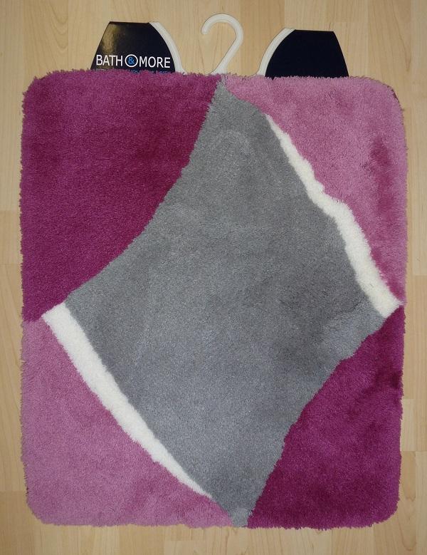Tappeto da bagno bali 70x120 cm grigio lilla ebay - Tappeto riscaldamento pavimento ...