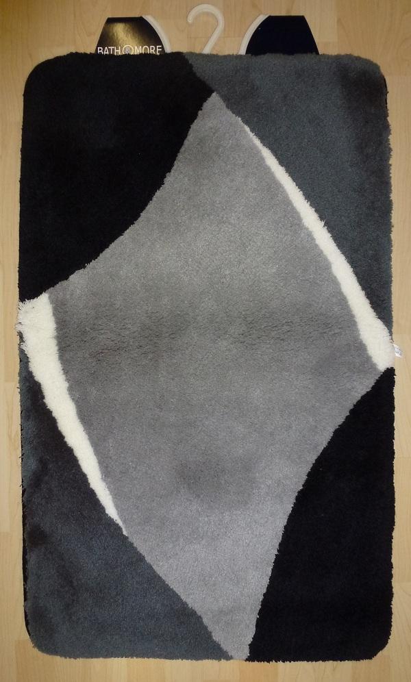 Bathroom rug Bath mat Bali 70×120 cm grey black  eBay