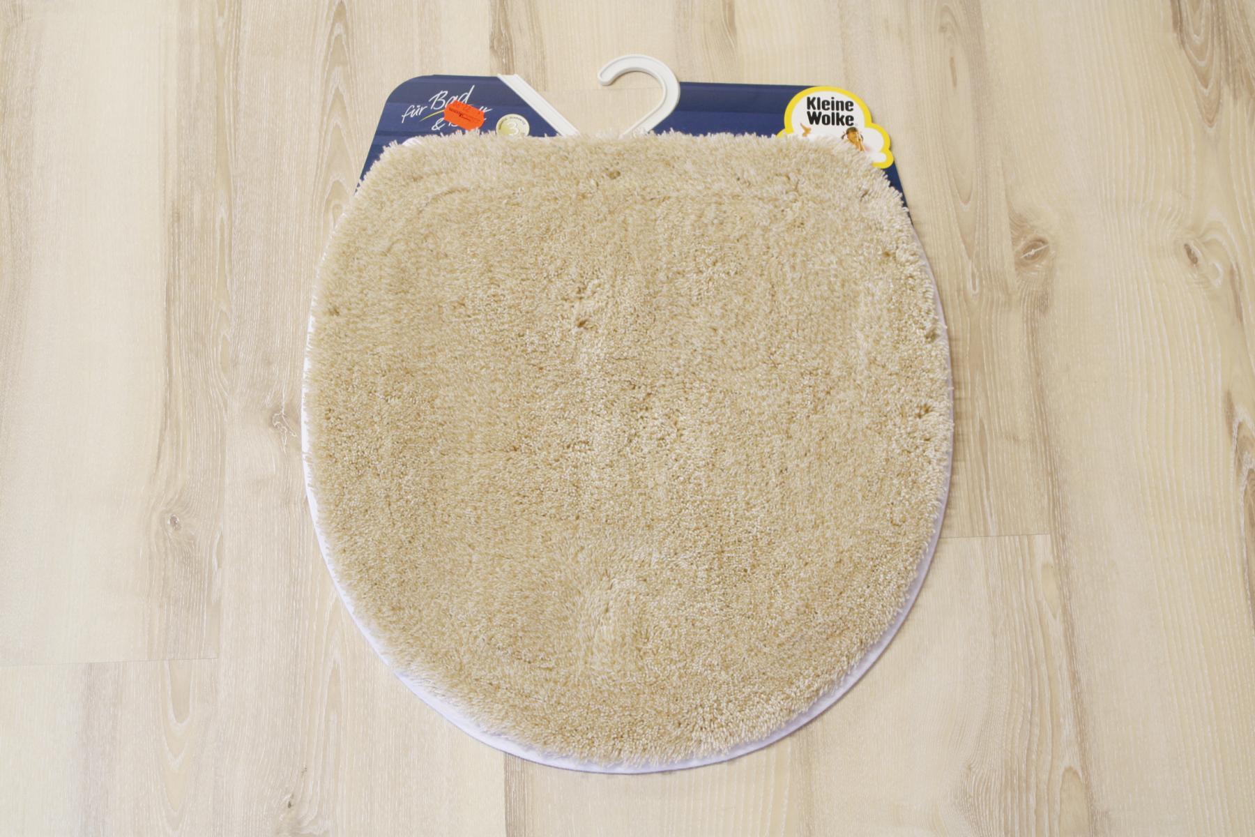 badteppich kleine wolke relax champagner 47x50 deckelbezug. Black Bedroom Furniture Sets. Home Design Ideas