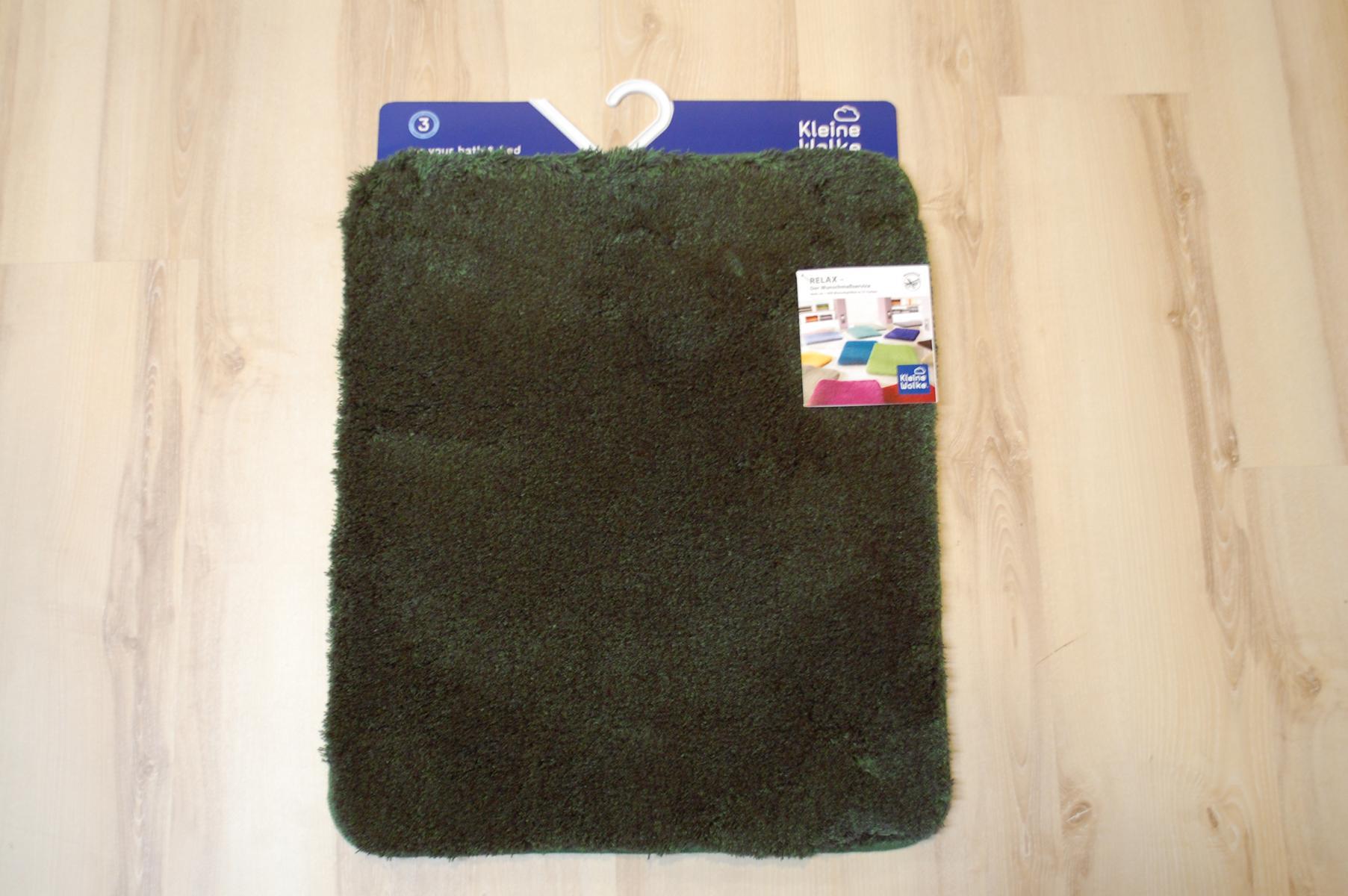 badteppich kleine wolke relax 657 tanne 55x65 cm gr n ebay. Black Bedroom Furniture Sets. Home Design Ideas