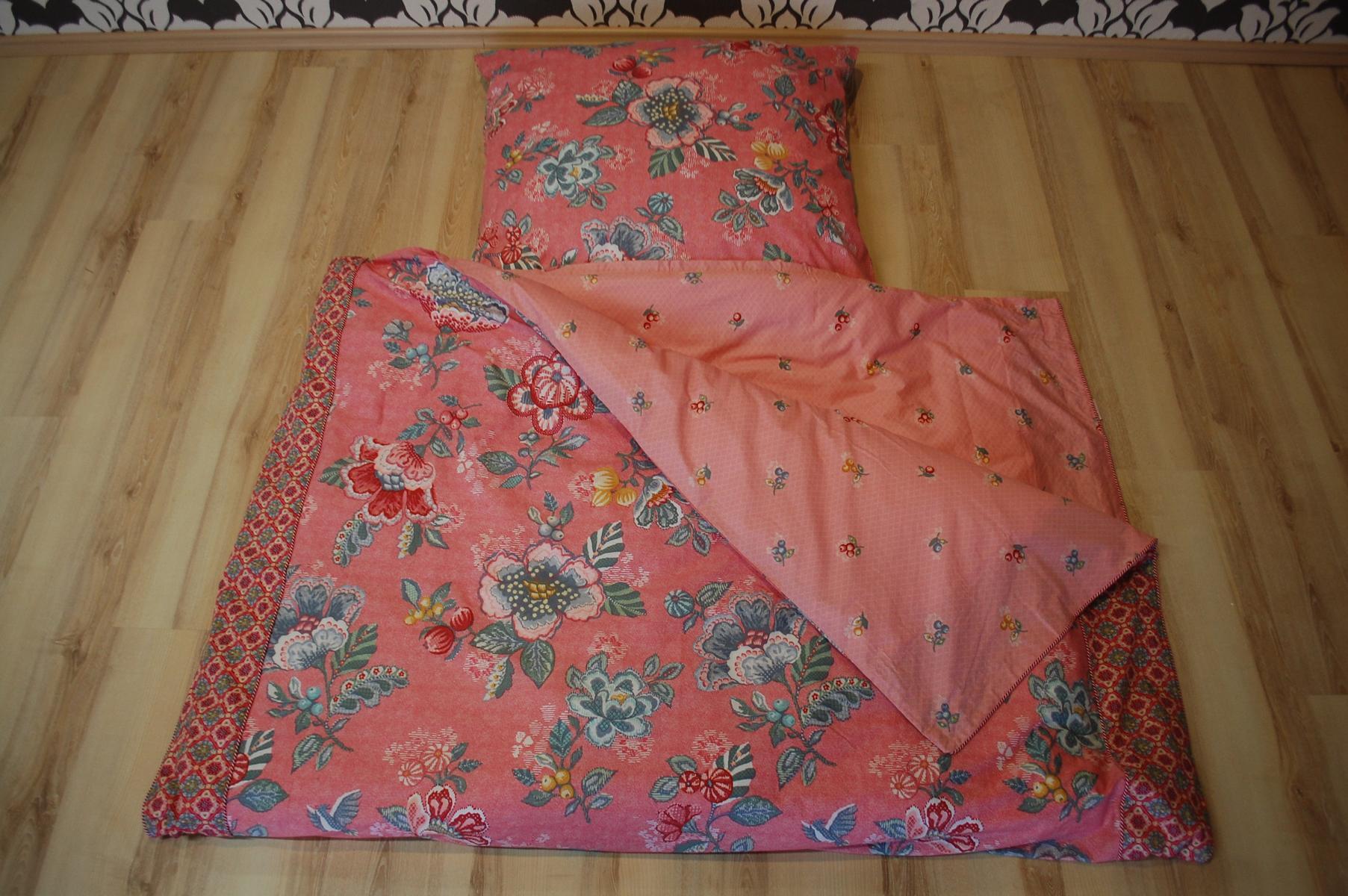 pip studio bettw sche berry bird pink 2 teilig 155x220cm 80x80cm ebay. Black Bedroom Furniture Sets. Home Design Ideas