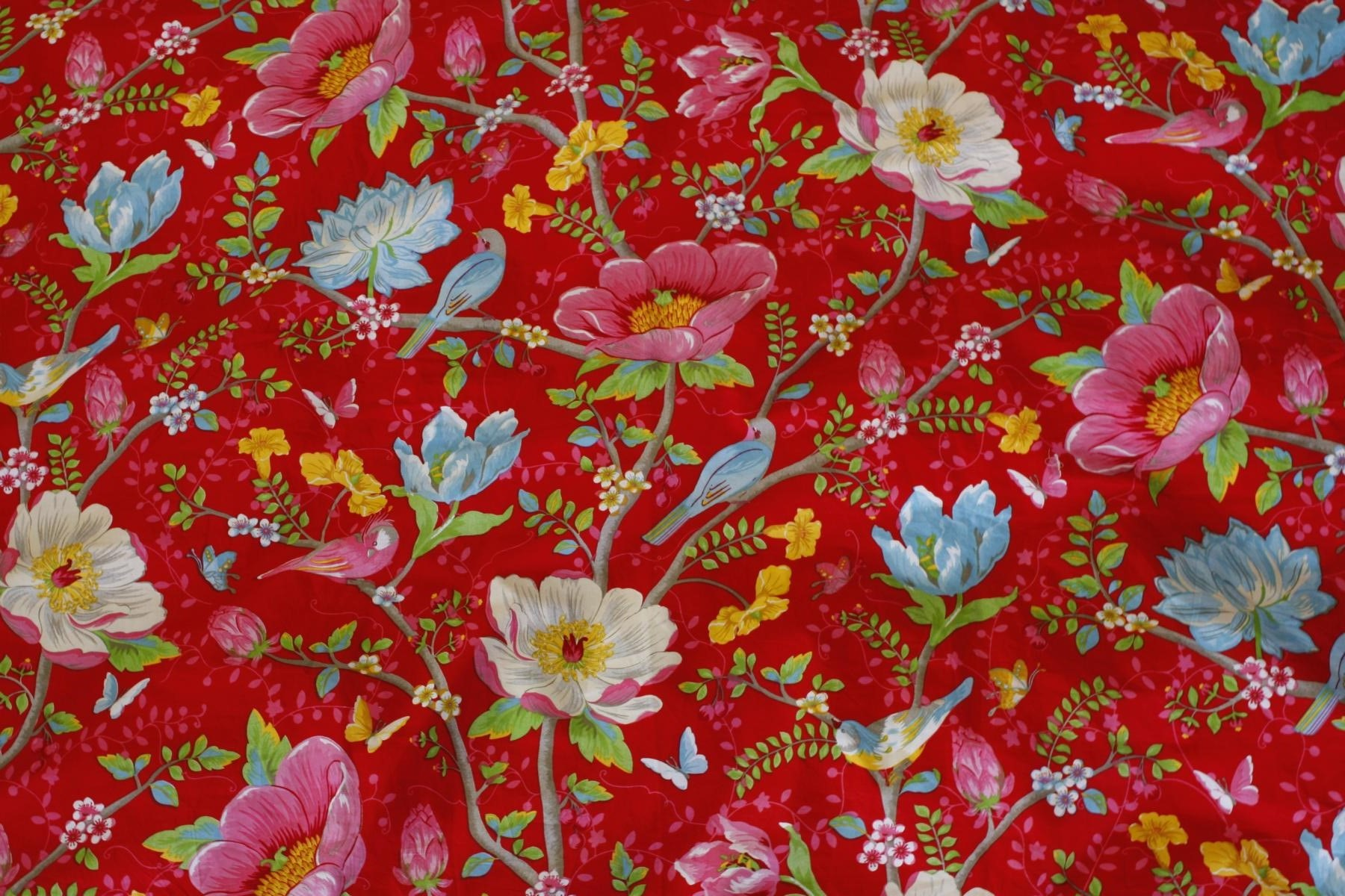 PIP Studio Bed cover Chinese Garden Red 2 piece 135x200cm