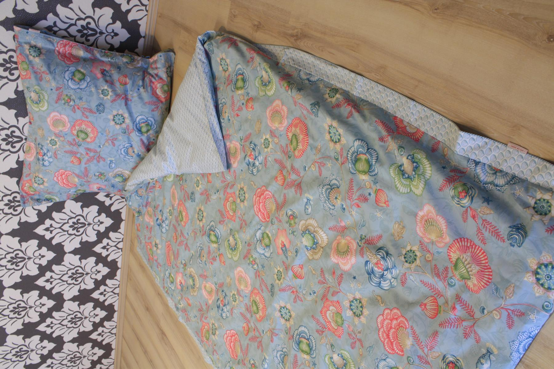 pip studio bettw sche shellebration aqua 2 teilig. Black Bedroom Furniture Sets. Home Design Ideas