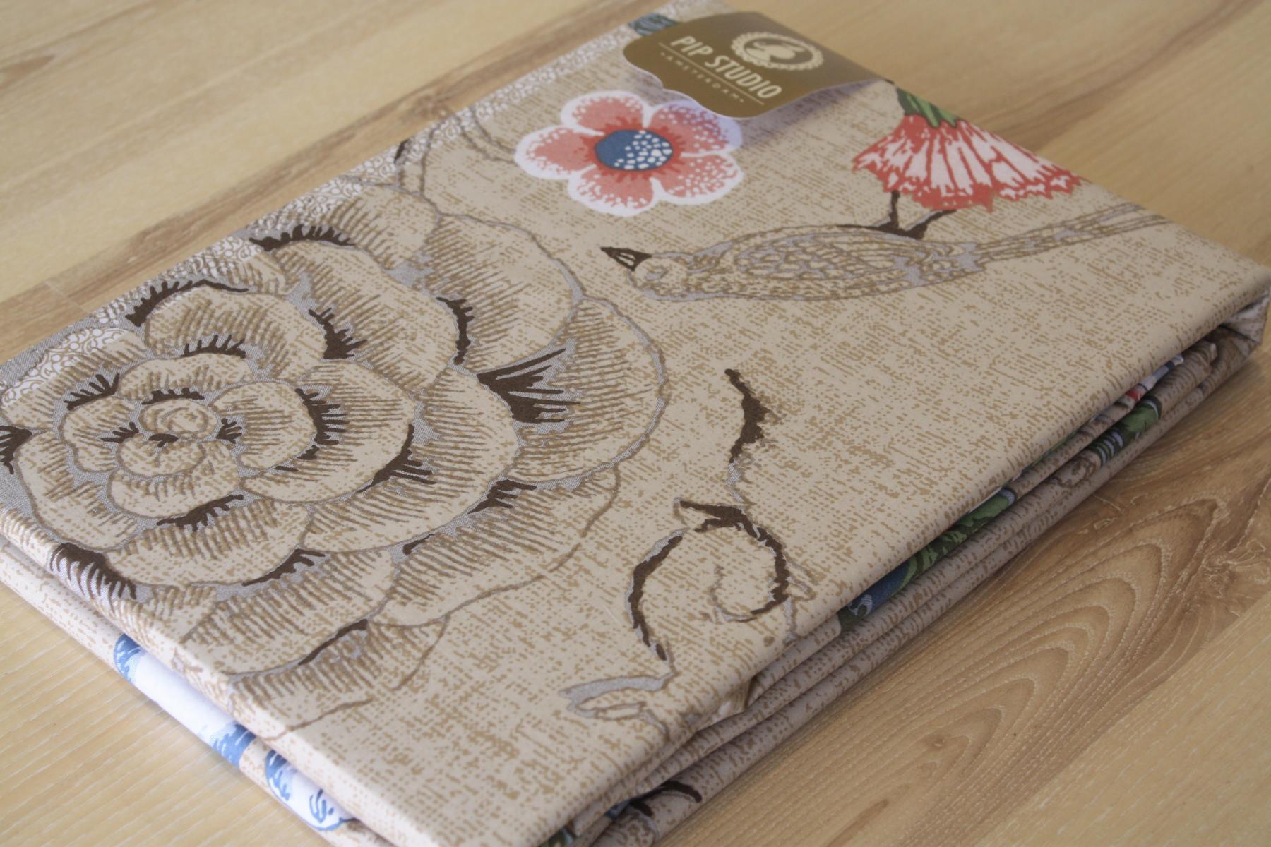 pip studio bed cover spring to life khaki 2 teilig. Black Bedroom Furniture Sets. Home Design Ideas