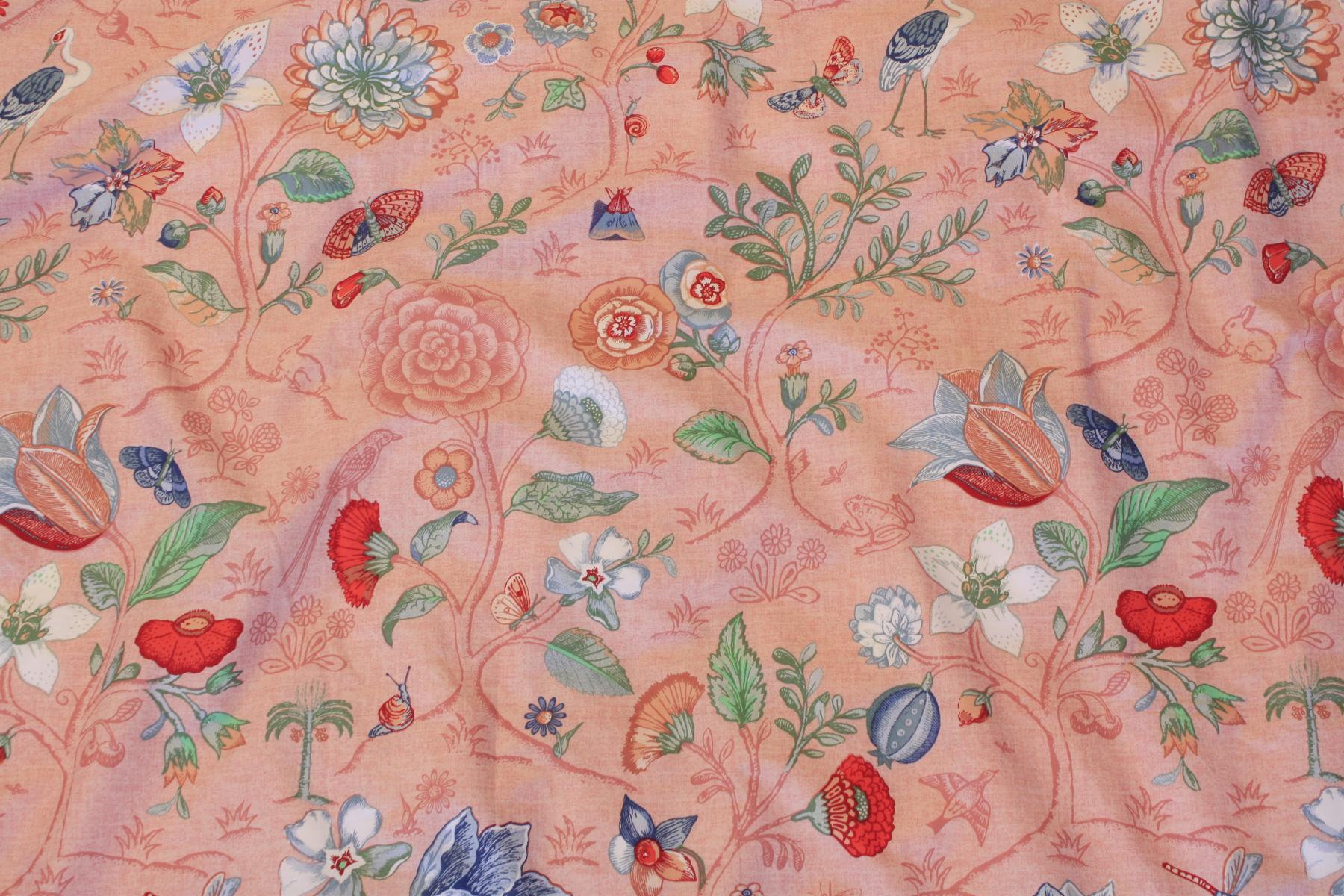 pip studio bed cover spring to life petite pink 2 teilig. Black Bedroom Furniture Sets. Home Design Ideas