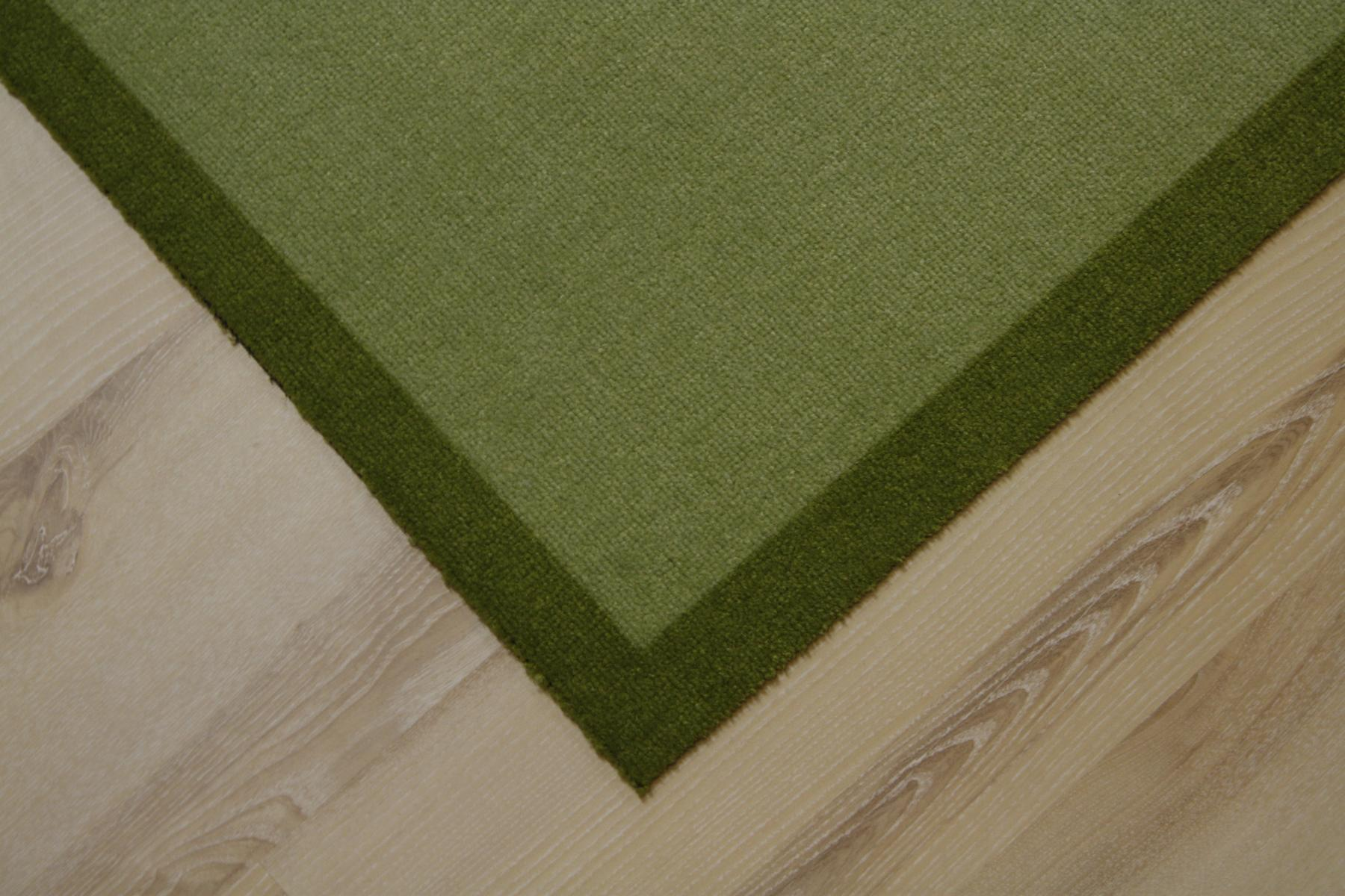 Kitchen runner Mat cardea Astra 11 Olio Uni green 50×150