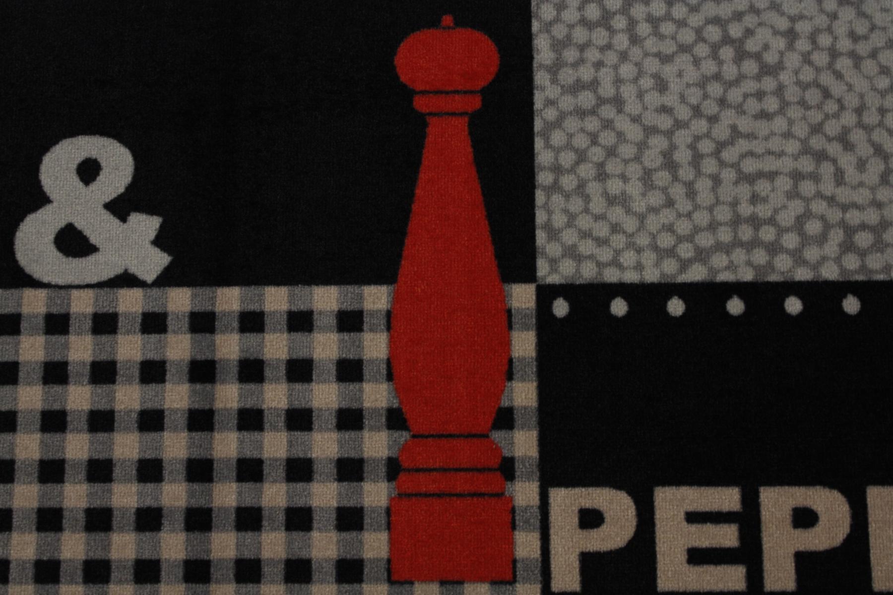 Fußmatte Türmatte cardea Astra 16 Salt & Pepper Design