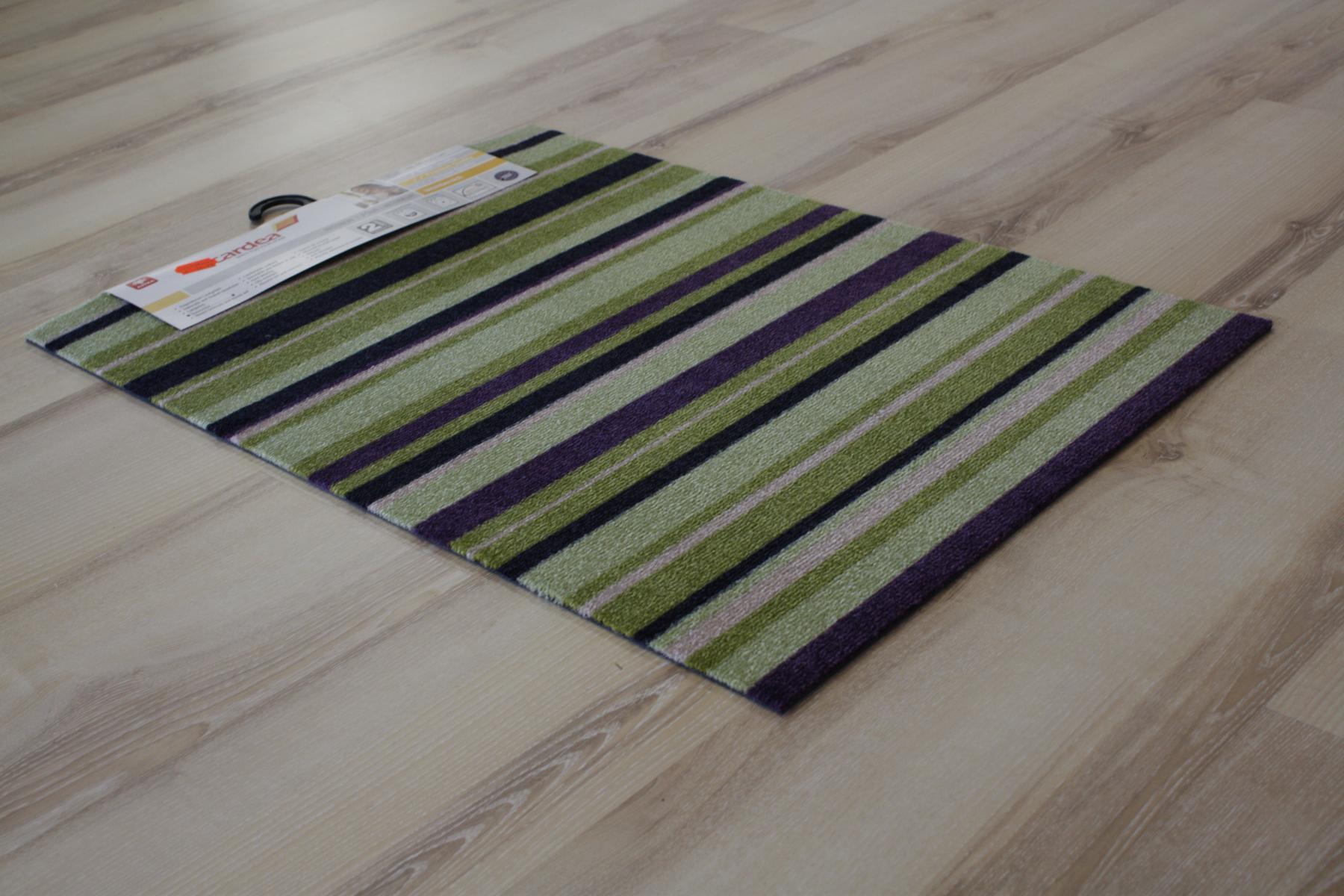 Kitchen runner Mat cardea Astra 19 Olio Stripes green