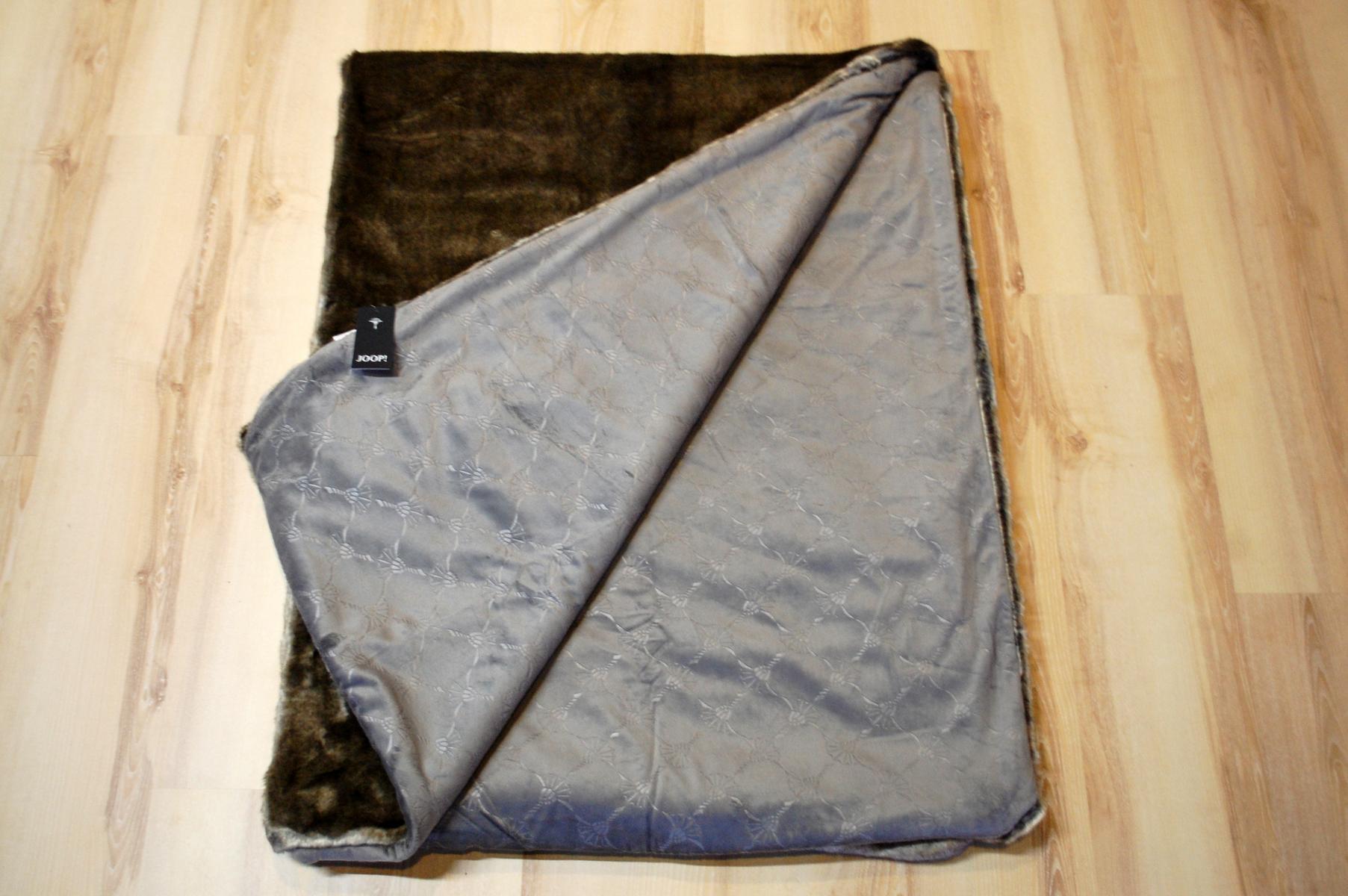 joop wohndecke simple joop baumwolle decke wohndecke. Black Bedroom Furniture Sets. Home Design Ideas