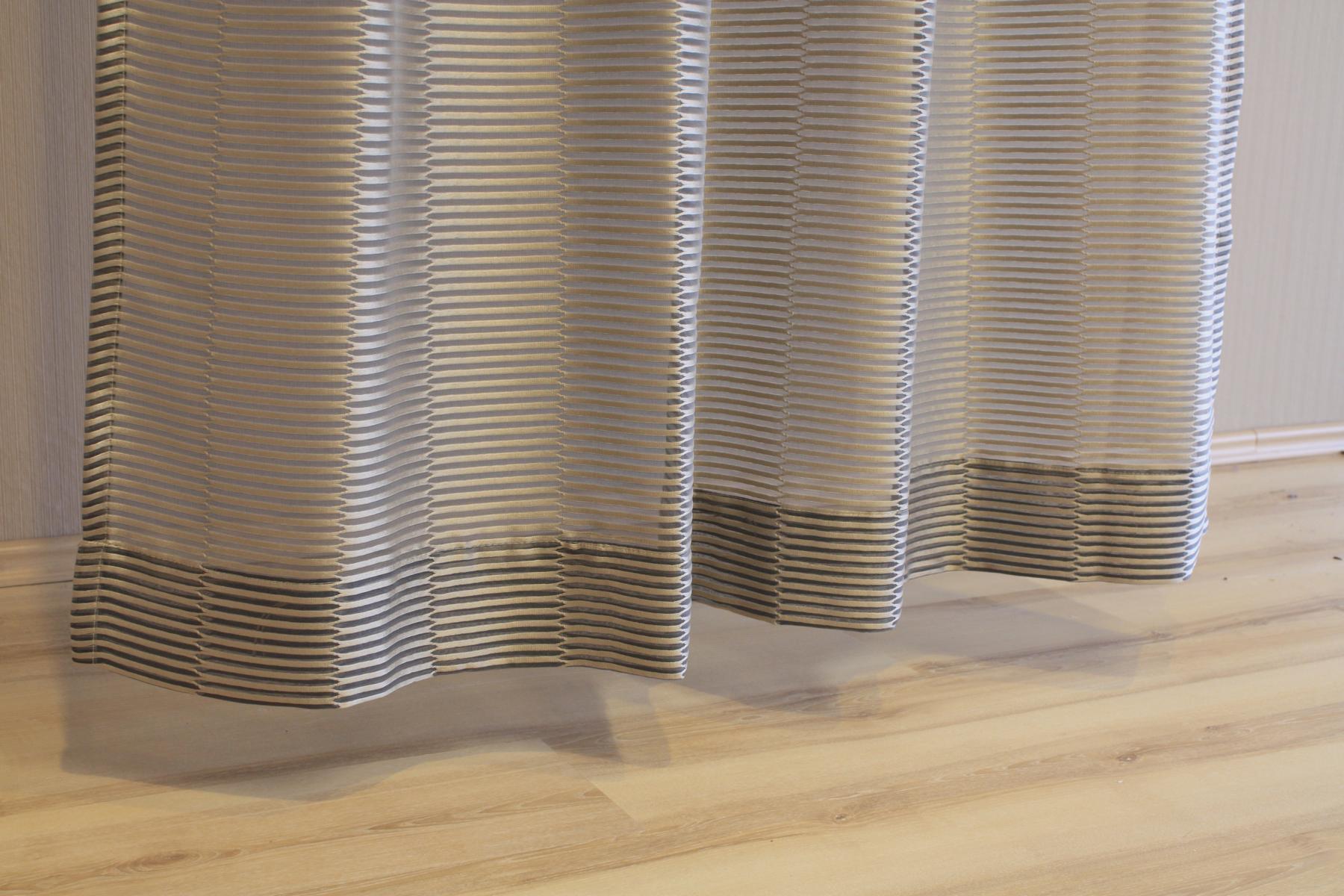 joop gardine vorhang senschal flesh 020 braun 140x250 cm fertigschal ebay. Black Bedroom Furniture Sets. Home Design Ideas