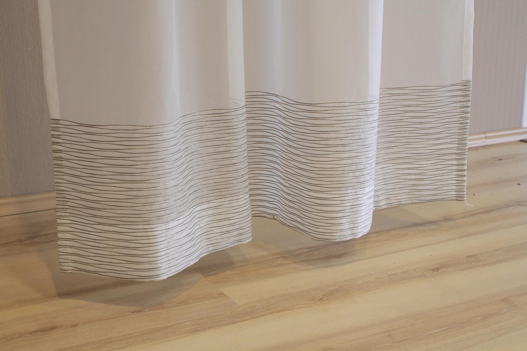 joop gardine vorhang schlaufenschal water 010 kitt 130x245 cm fertigschal. Black Bedroom Furniture Sets. Home Design Ideas