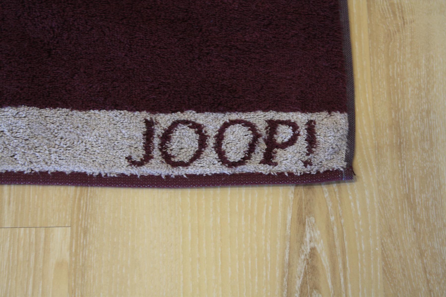 joop duschtuch badetuch 1651 doubleface 27 marsala 80x150cm ebay. Black Bedroom Furniture Sets. Home Design Ideas
