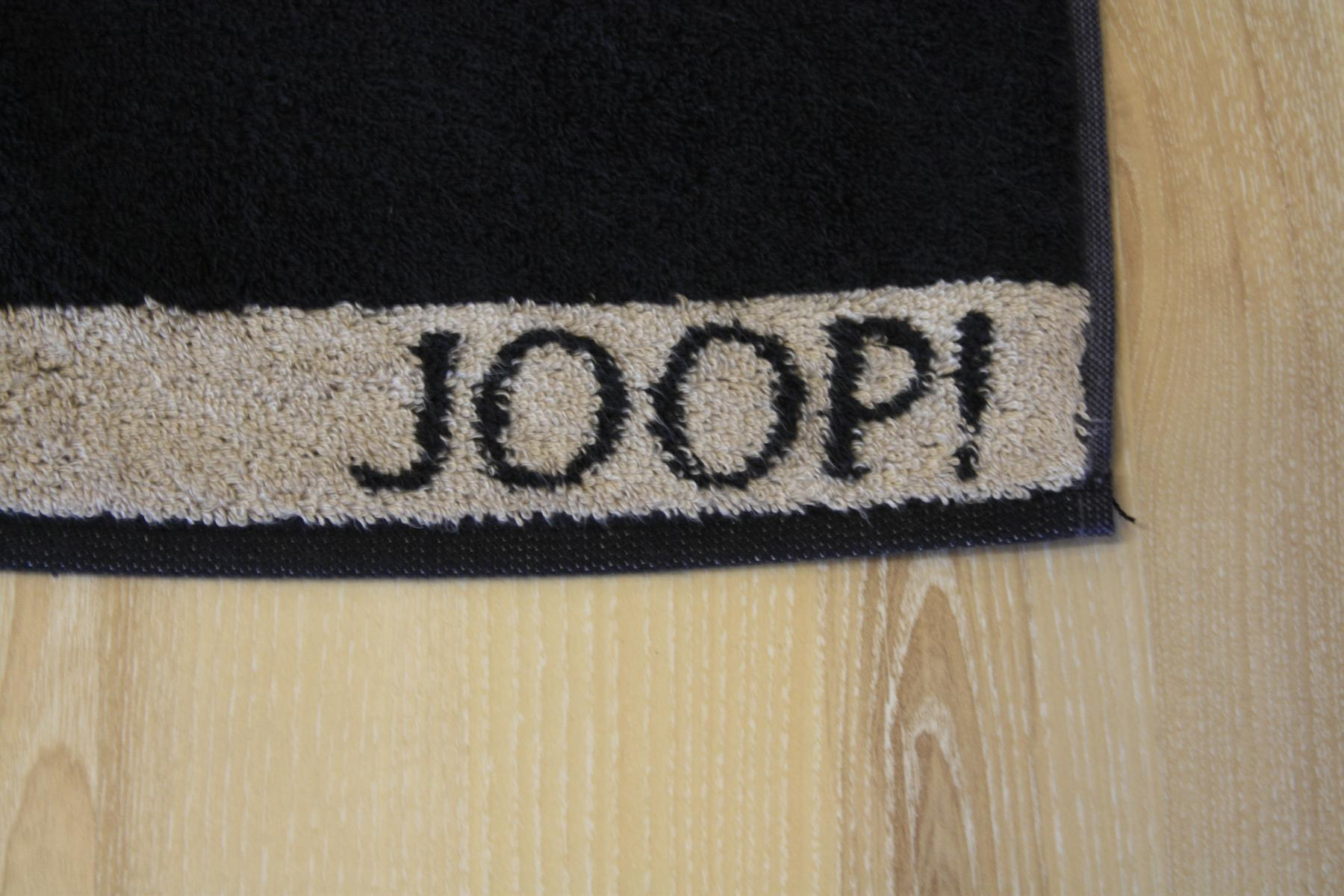 joop duschtuch badetuch 1651 doubleface 93 schwarz. Black Bedroom Furniture Sets. Home Design Ideas