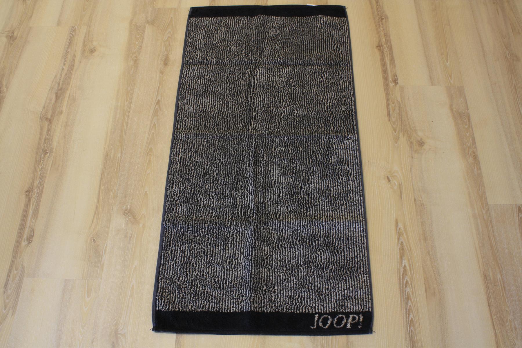 joop duschtuch badetuch 1652 stripes 93 schwarz 80x150cm. Black Bedroom Furniture Sets. Home Design Ideas
