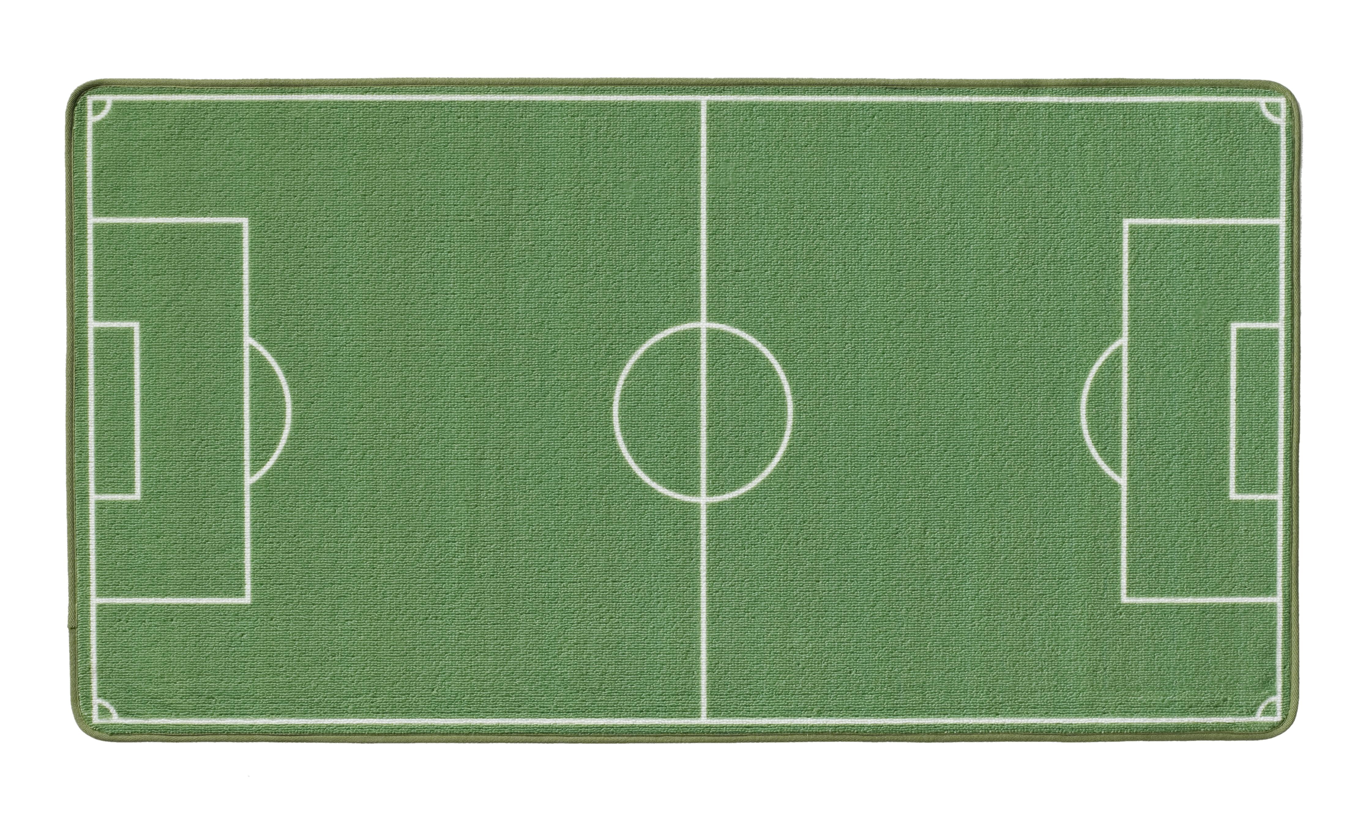 Campo da calcio tappeto bambini giocano tappeto verde - Tappeto riscaldamento pavimento ...