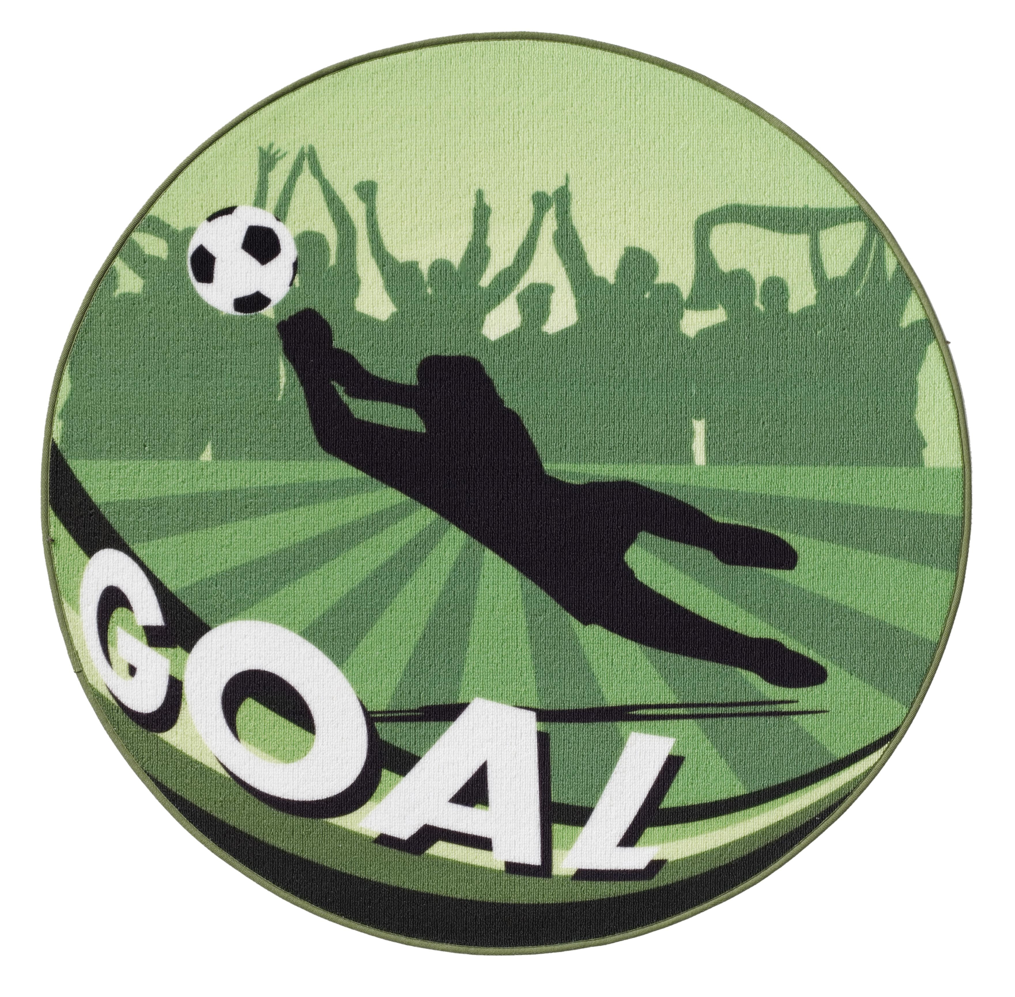 Pallone da calcio tappeto bambini tappeto gioco goal verde - Tappeto riscaldamento pavimento ...