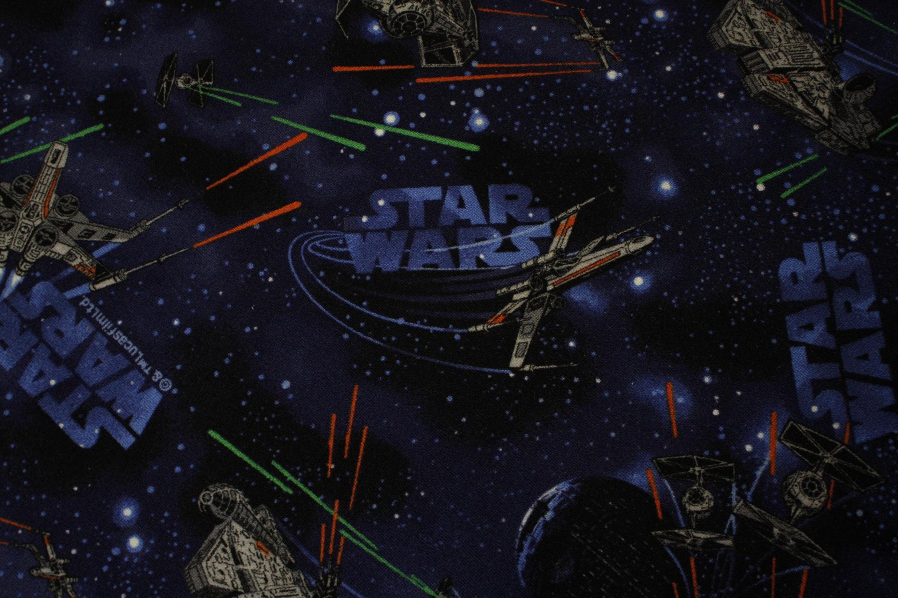 Tappeto Bambini Tappeto da gioco Star Wars blu scuro