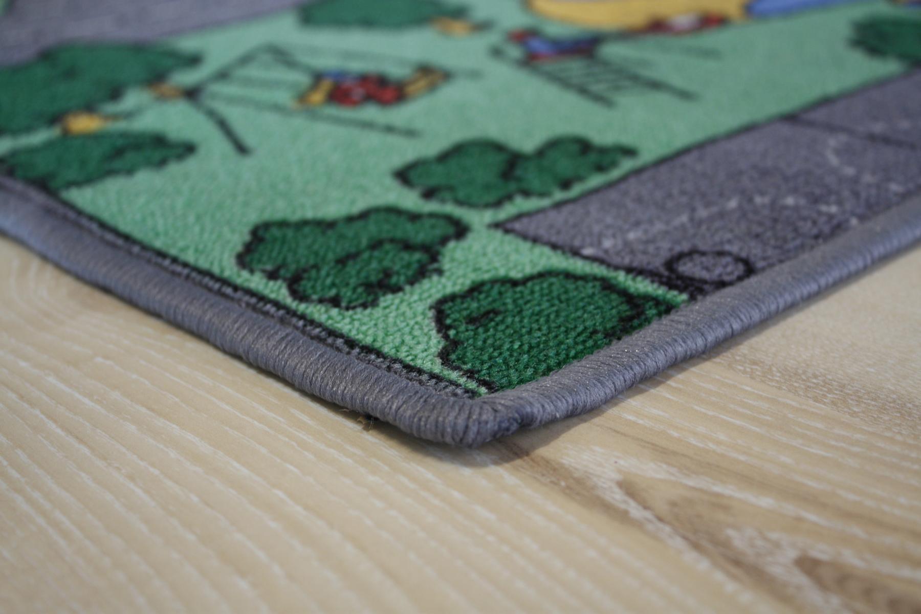 Straßenteppich Kinder Spielteppich Stadt 200×160 cm NEU!