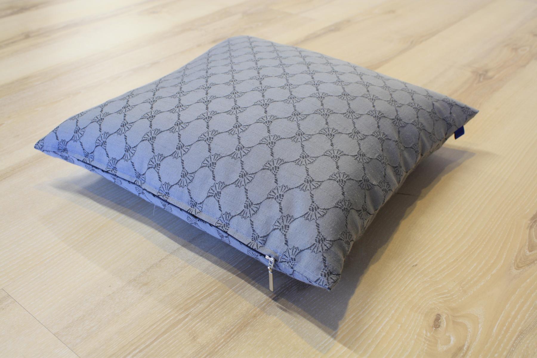 joop kissen cornflower 010 stein 40x40 cm inkl federf llung ebay. Black Bedroom Furniture Sets. Home Design Ideas