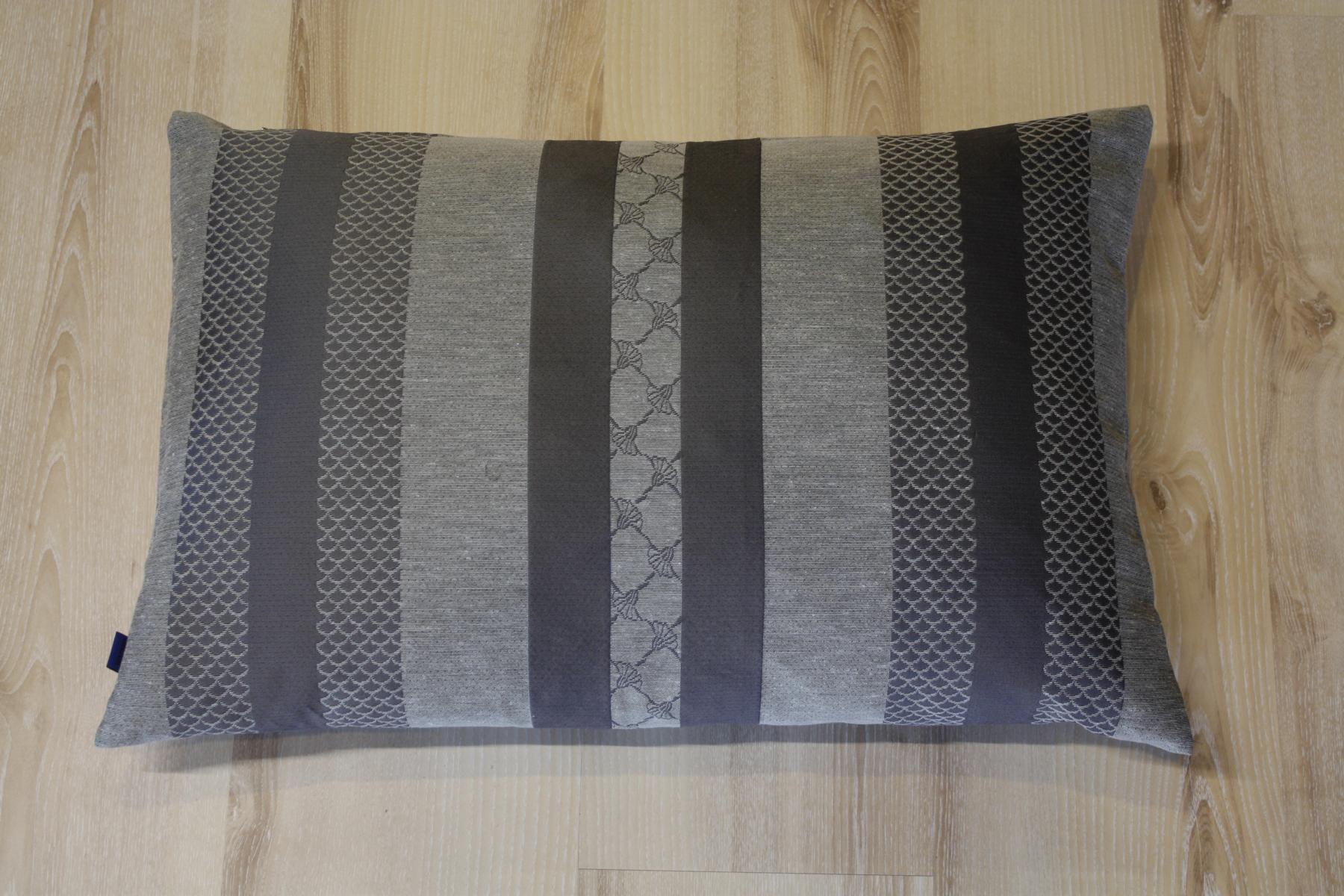 joop kissen glory 010 grau 40x60 cm inkl federf llung ebay. Black Bedroom Furniture Sets. Home Design Ideas