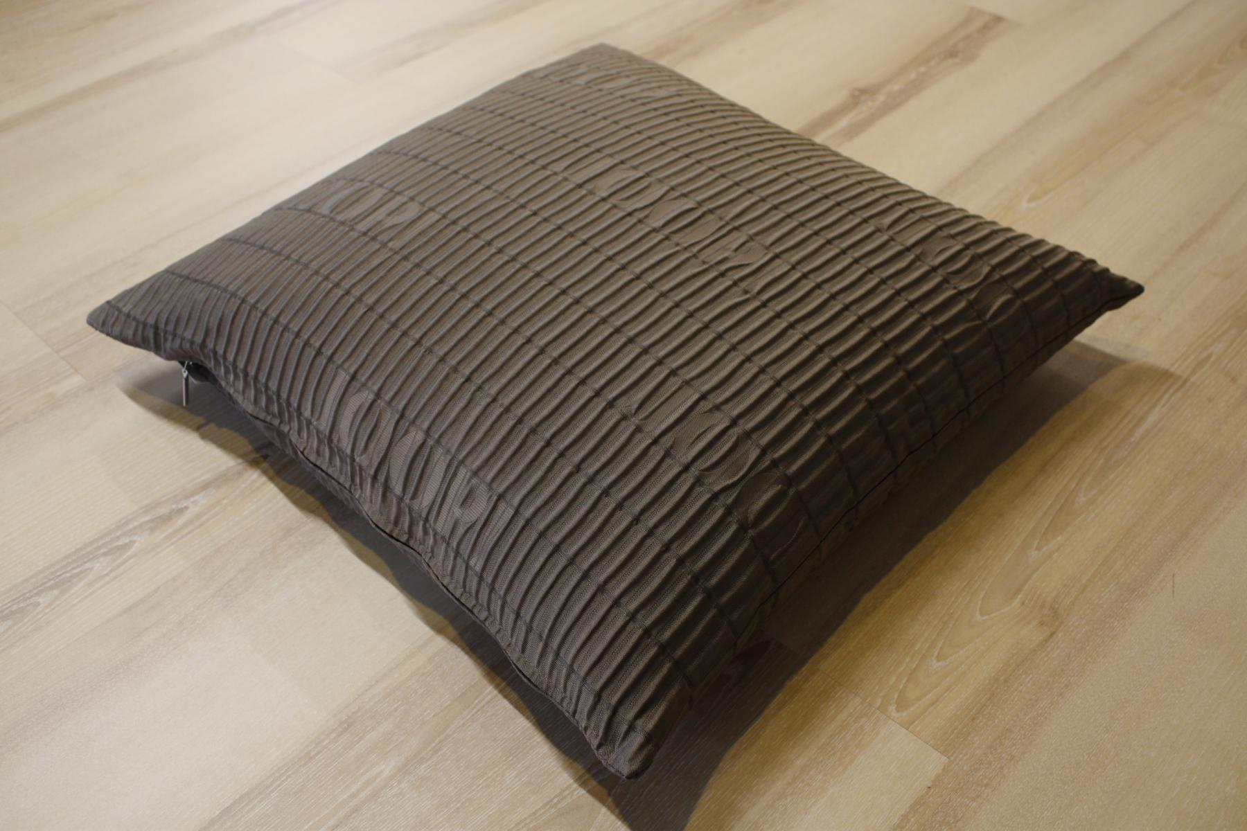 joop kissen wrinkle 022 kitt 50x50 cm inkl federf llung ebay. Black Bedroom Furniture Sets. Home Design Ideas
