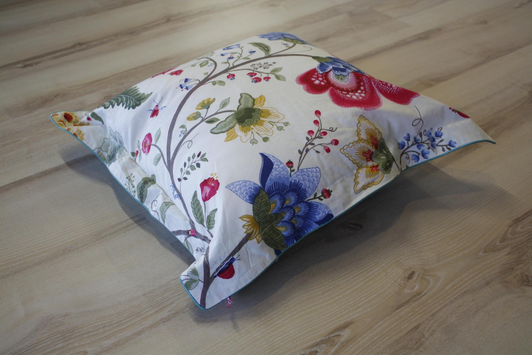 pip studio kissen kopfkissen floral fantasy ecru 45x45 cm. Black Bedroom Furniture Sets. Home Design Ideas