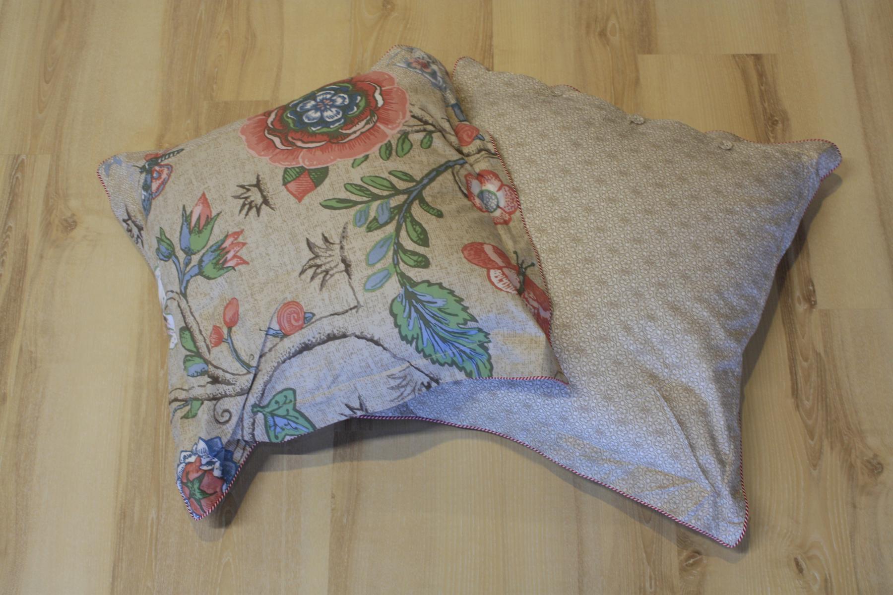pip studio kissen kopfkissen spring to life khaki 45x45 cm. Black Bedroom Furniture Sets. Home Design Ideas