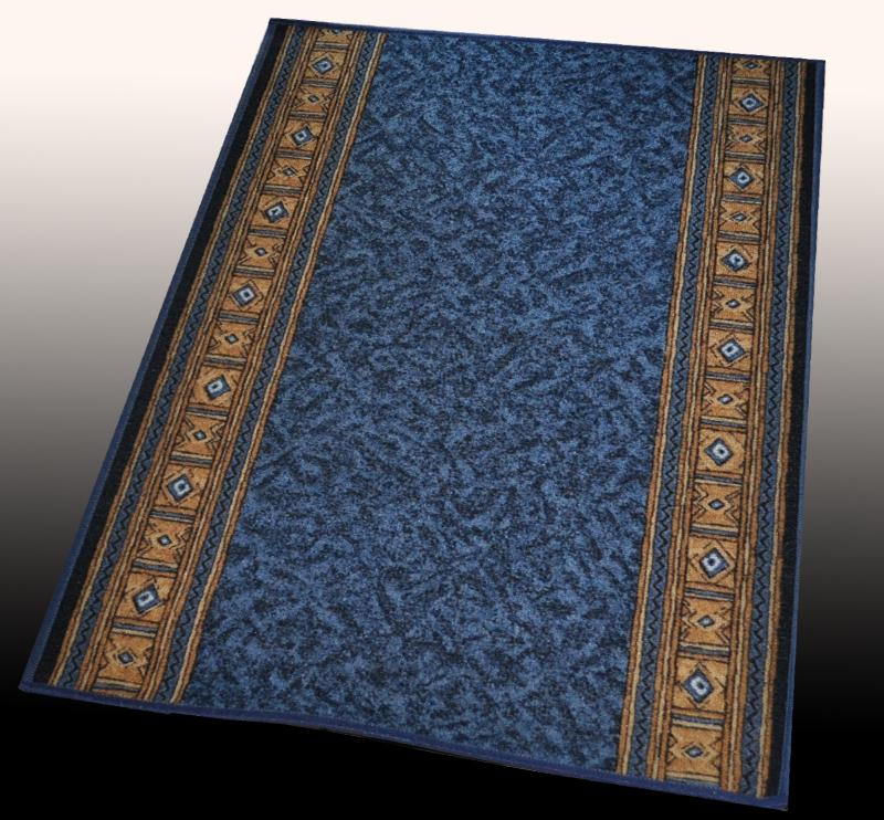 teppich l ufer aw epos blau 80 cm breite l nge 100 395cm. Black Bedroom Furniture Sets. Home Design Ideas