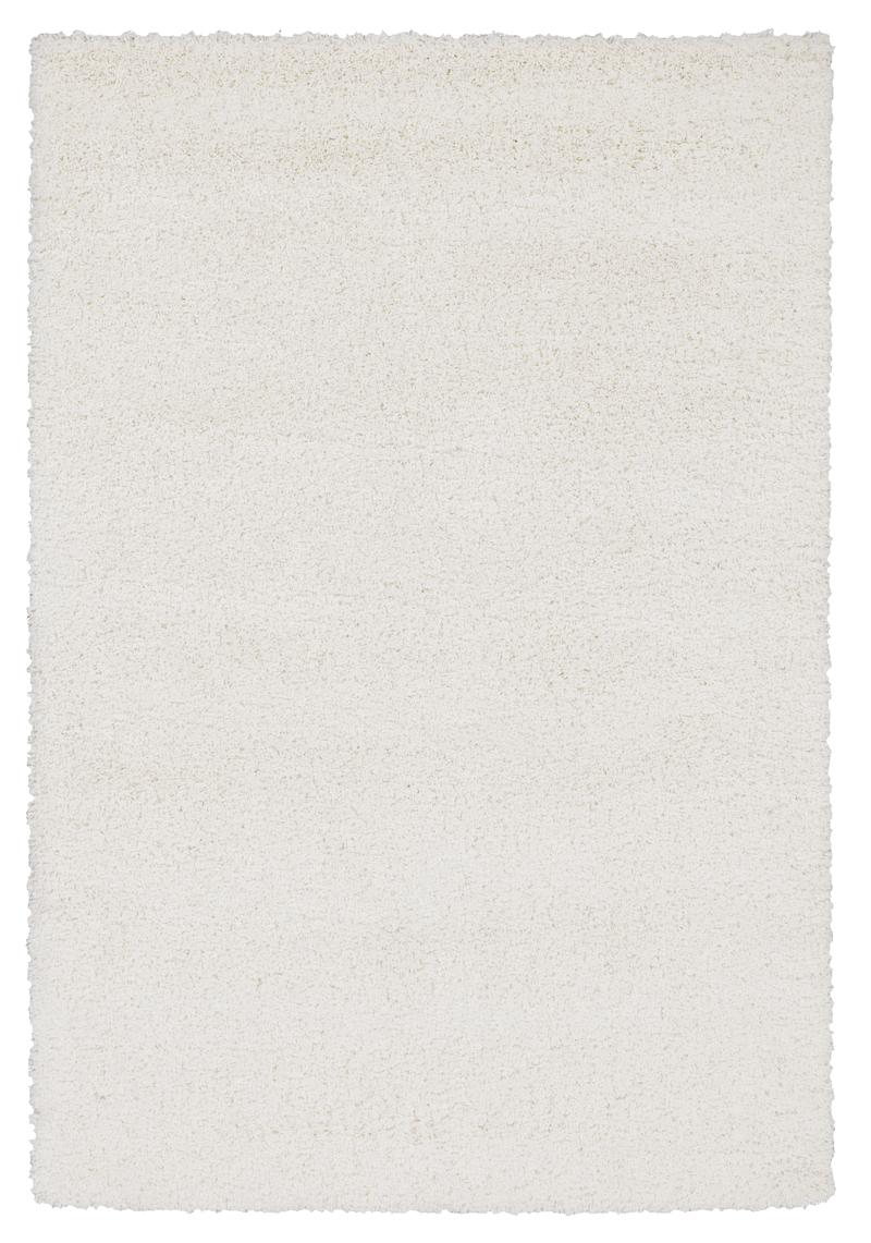 Shaggy Pelo Largo Alfombra Silverstar Blanco 140x200 Cm Ebay