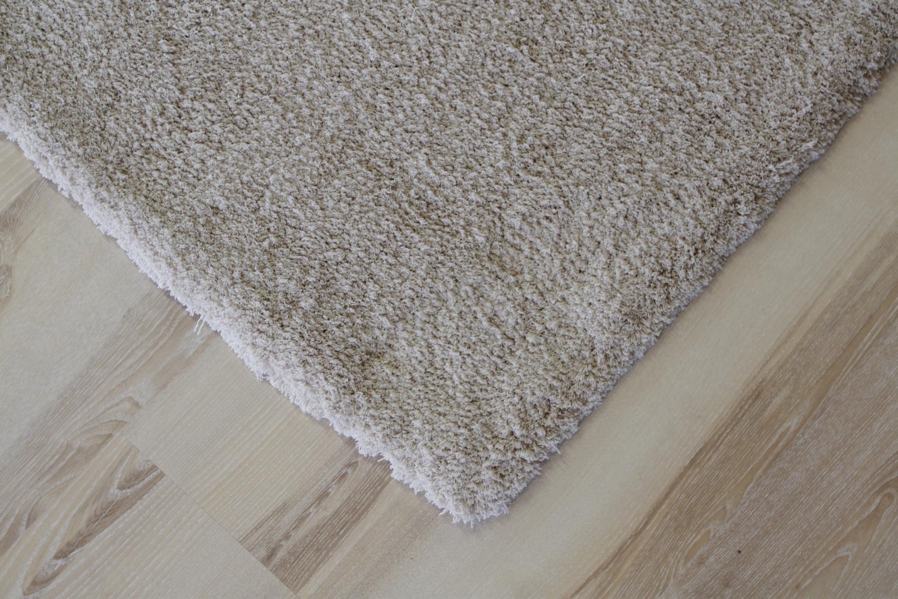 Rug High pile Soft Shaggy 660 beige 65×130 cm Soft