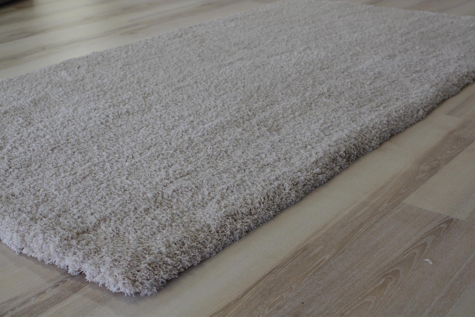 Alfombra Pelo largo suave Lanuda 660 beige 120×170 cm