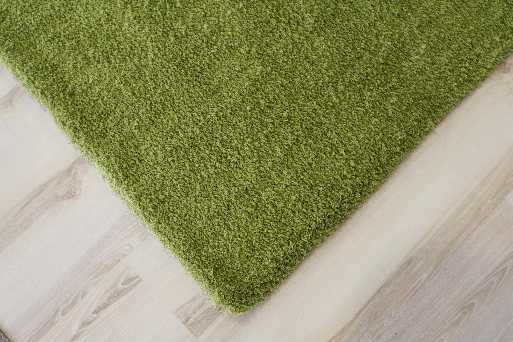 Teppich Langflor Soft Shaggy 650 grün 160×230 cm weich  eBay