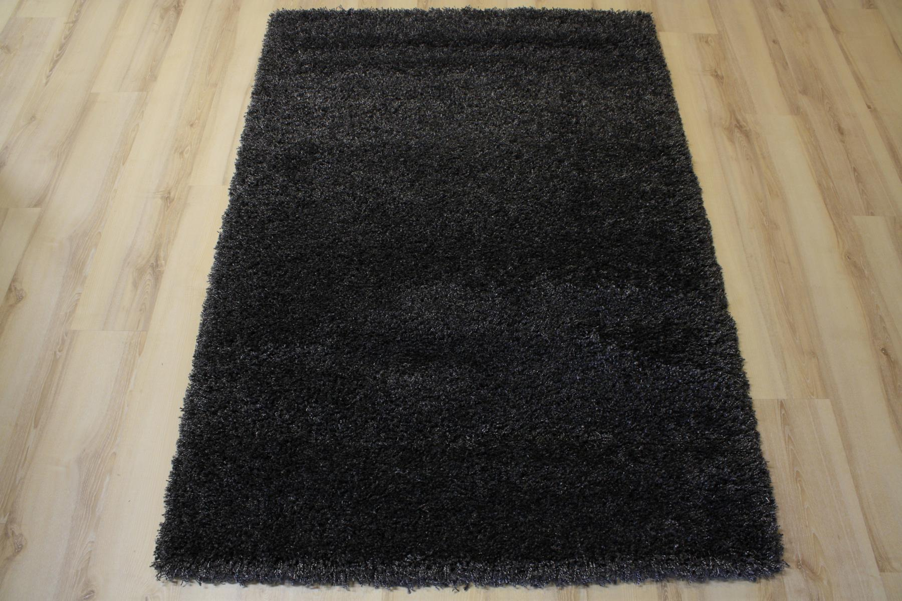 Rug High Pile 39001 Twilight 5533 Anthracite 65x130cm Ebay