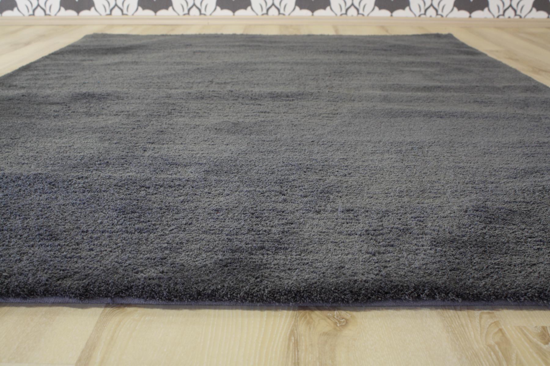 teppich langflor astra livorno 042 dunkel grau 140x200 cm weich ebay. Black Bedroom Furniture Sets. Home Design Ideas
