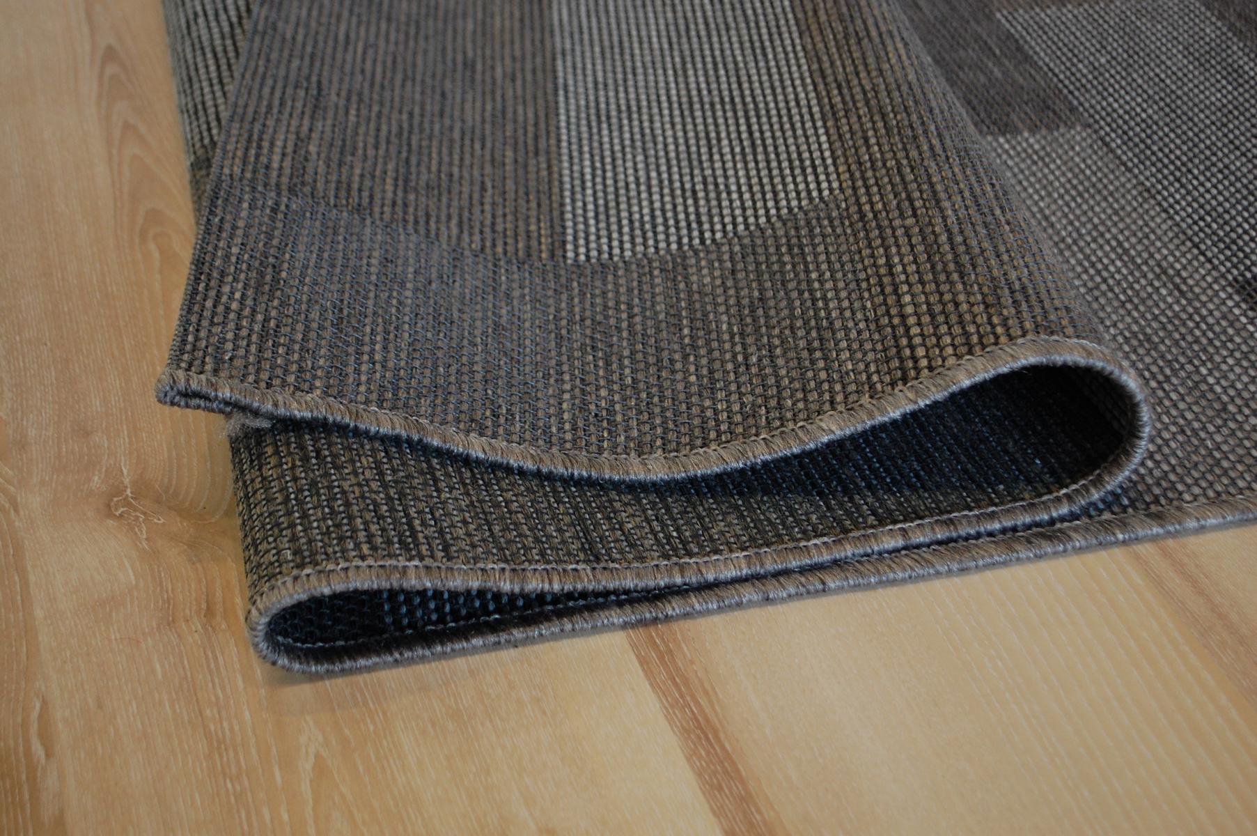 Ragolle Newport Indoor Outdoor Teppich 96010 300899 Anthrazit Grau
