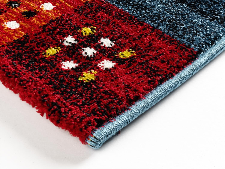 teppich multicolor designer ha028 eden modern 140x200cm. Black Bedroom Furniture Sets. Home Design Ideas