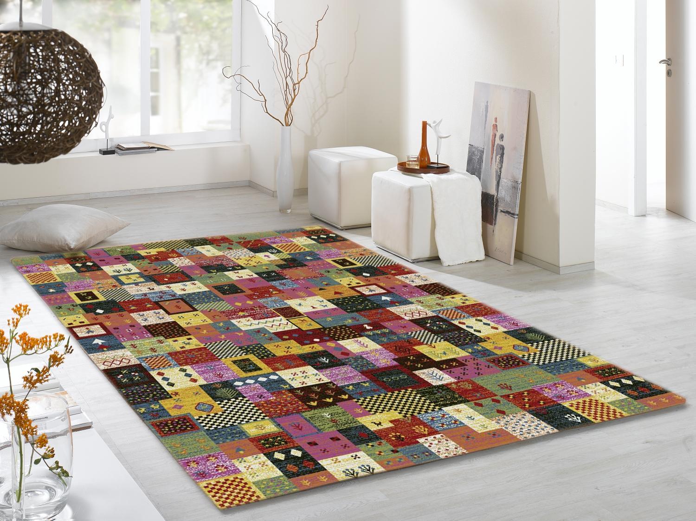 teppich multicolor designer ha027 pardis modern 160x230cm. Black Bedroom Furniture Sets. Home Design Ideas