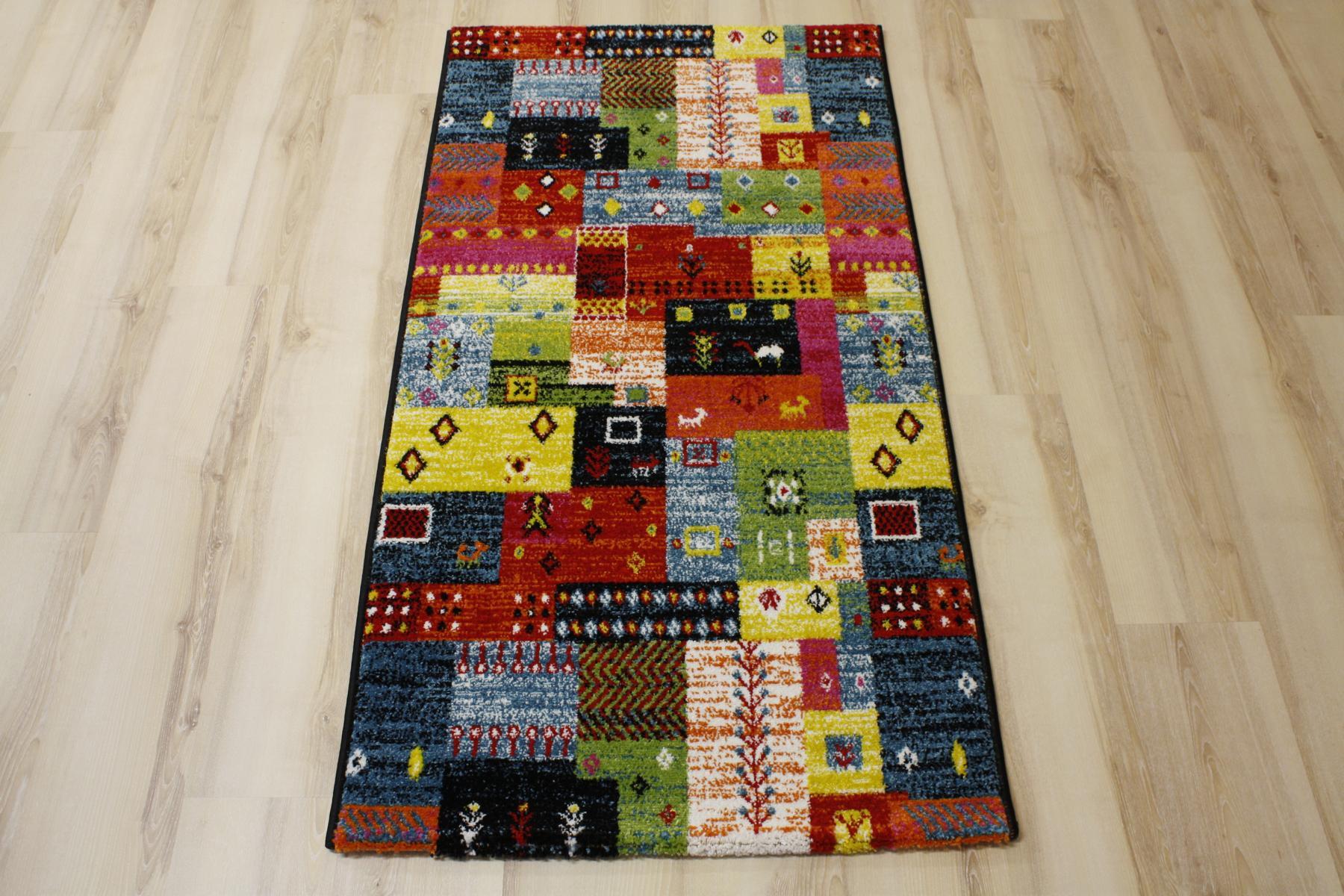 teppich multicolor designer ha028 modern 598 multi. Black Bedroom Furniture Sets. Home Design Ideas