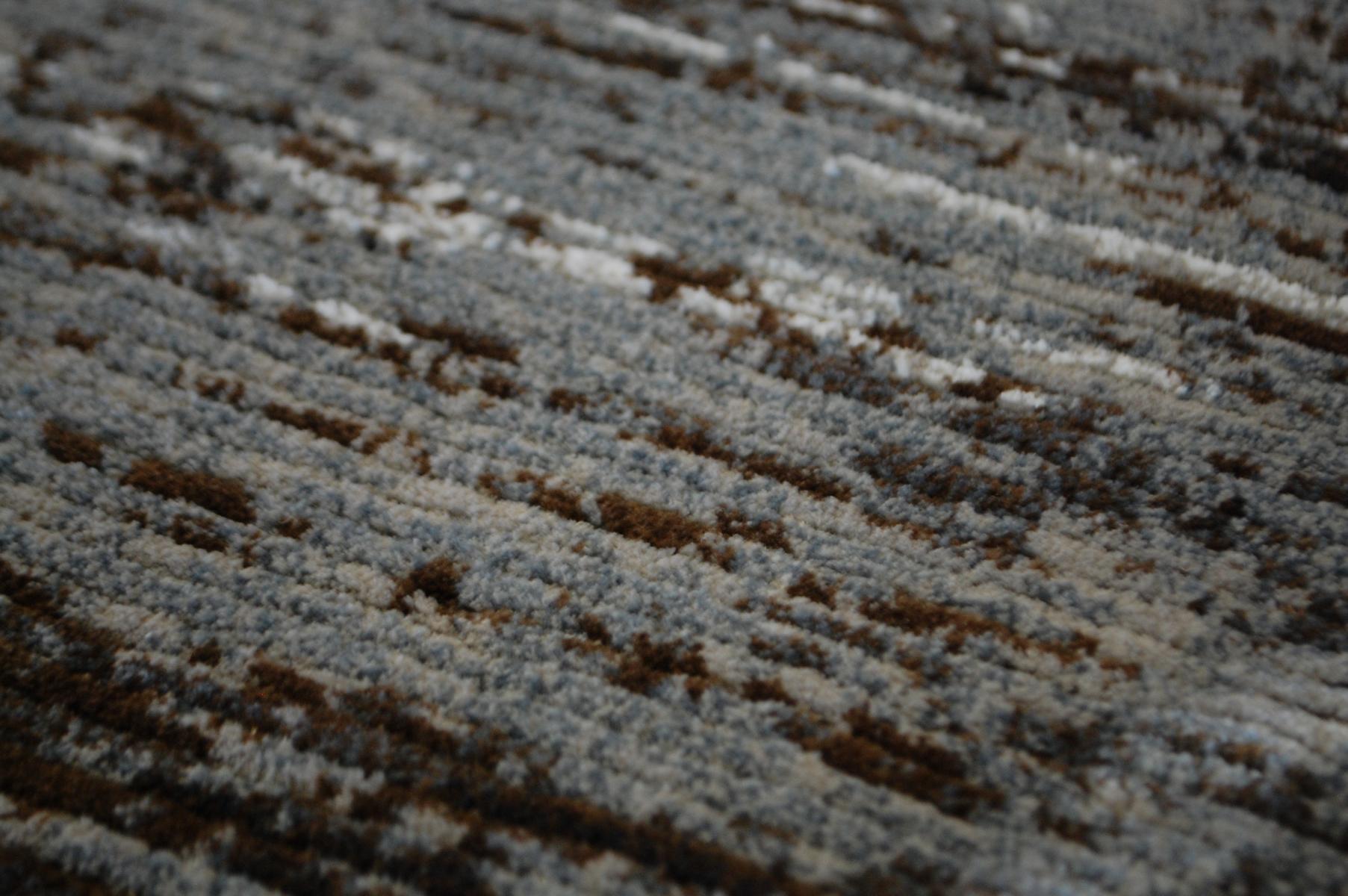 teppich quartz ragolle 15002 gestreift 5242 grau 80x150 cm ebay. Black Bedroom Furniture Sets. Home Design Ideas