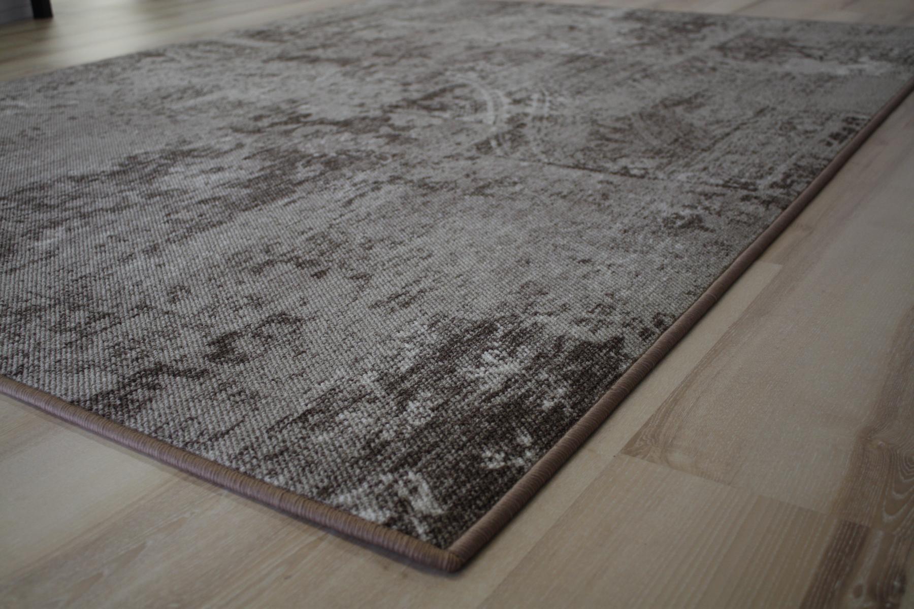 Patchwork tappeto pavimento tappeto beige 200x200 cm ebay - Tappeto riscaldamento pavimento ...