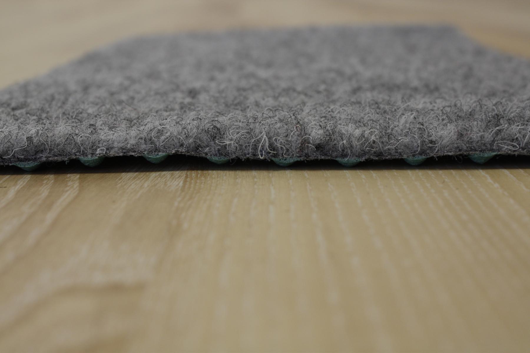 Grass carpet Artificial turf Comfort + light grey 400×370