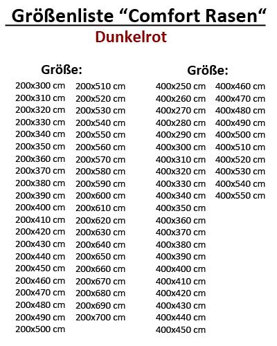 Rasenteppich Kunstrasen Premium dunkel braun 200x650 cm