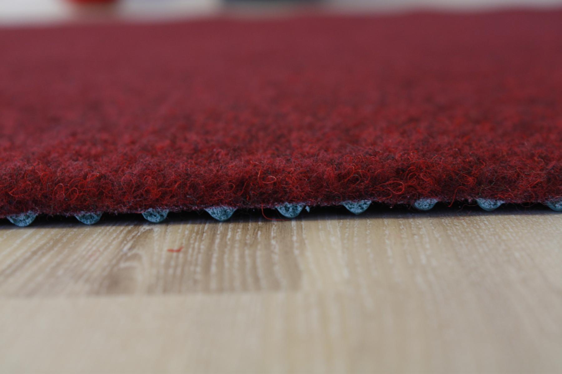 Grass Carpet Artificial Grass Premium Red 400×400 cm dark