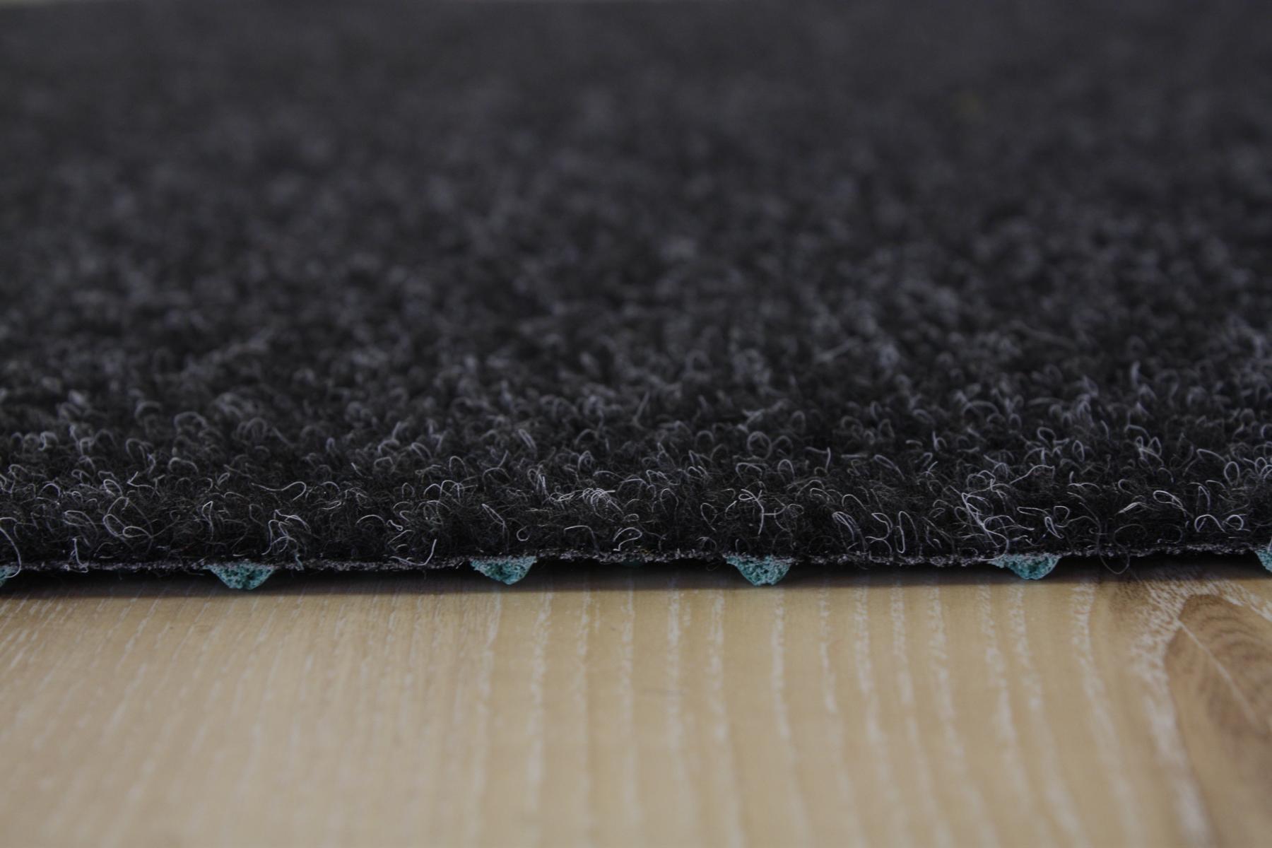 Artificial Grass Turf Carpet Comfort + black grey 200×370