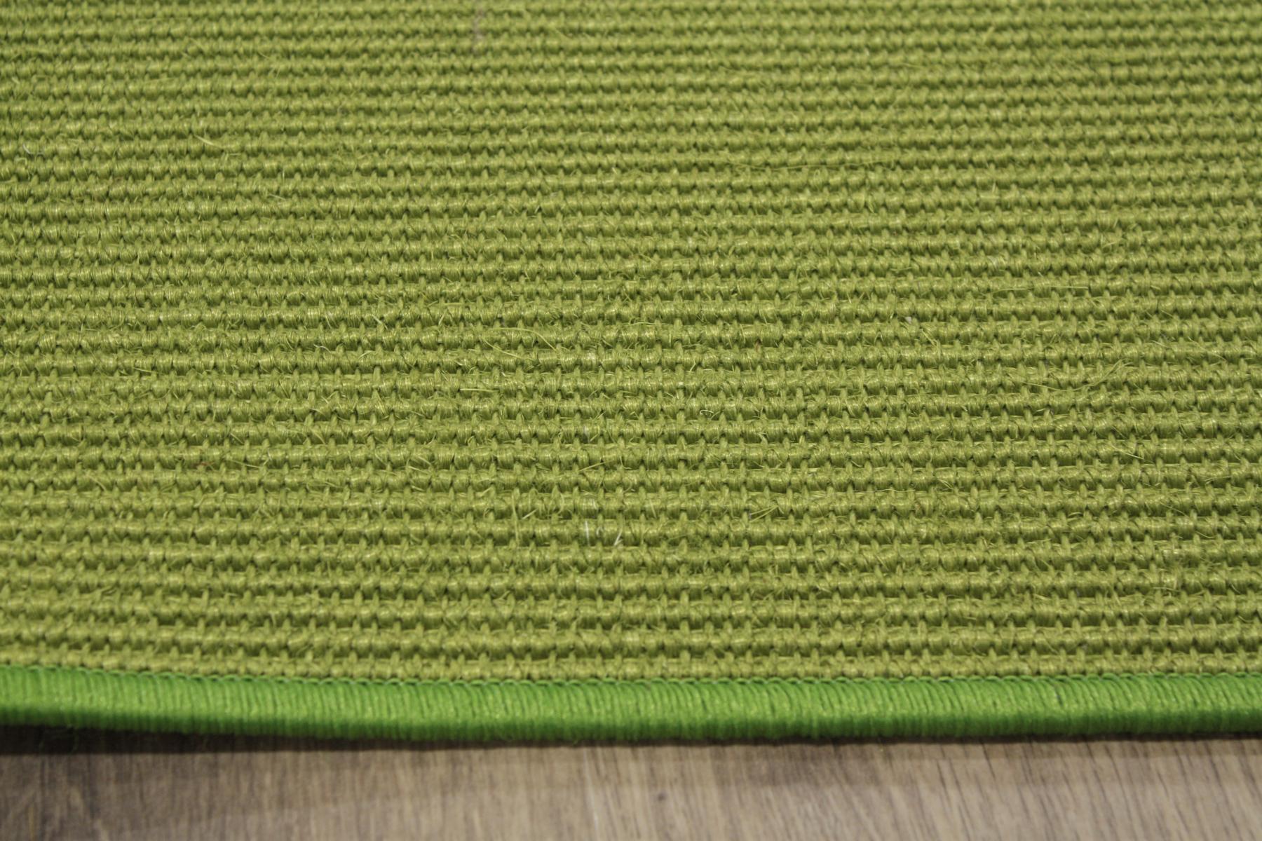 sisal teppich umkettelt gr n 120x180cm 100 sisal gekettelt. Black Bedroom Furniture Sets. Home Design Ideas