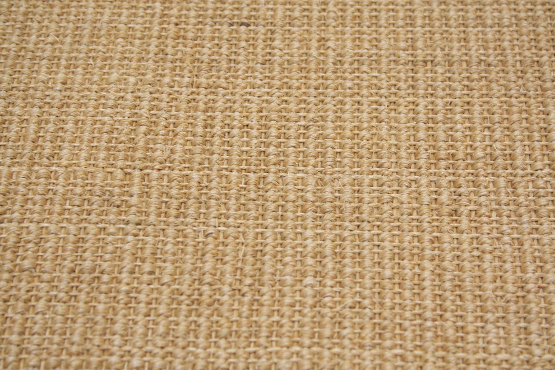 Sisal Teppich umkettelt natur 200x300cm 100/% Sisal gekettelt